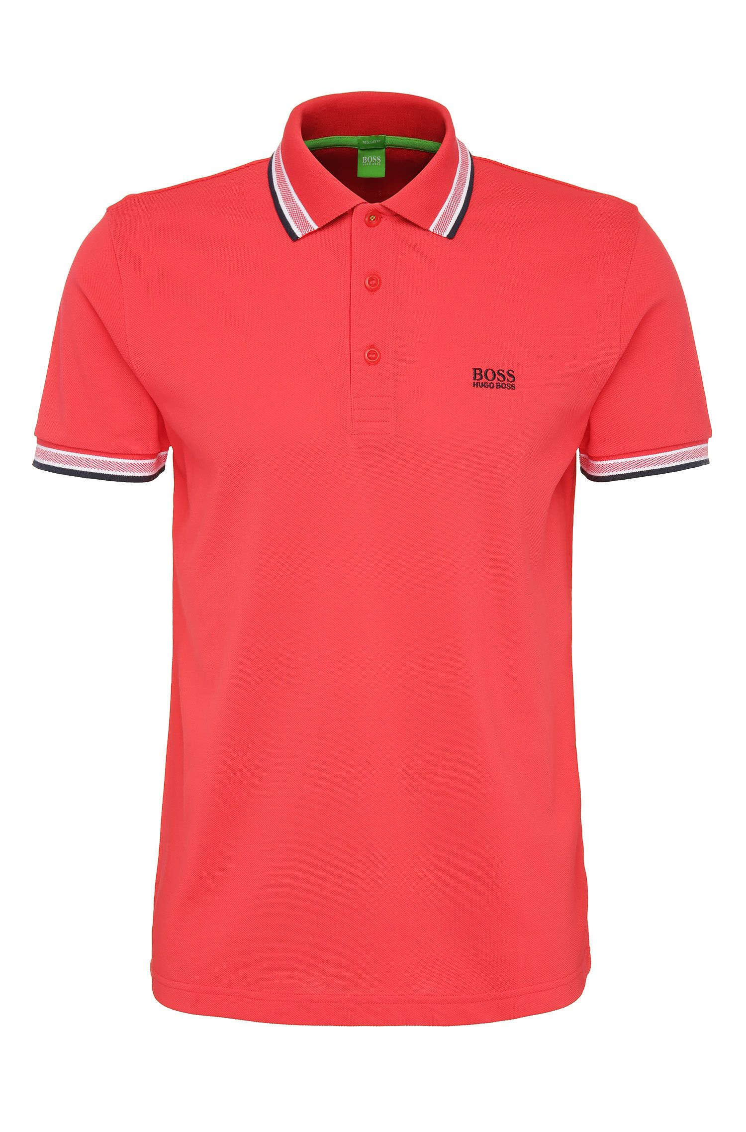 'Paddy'   Modern Fit, Cotton Polo