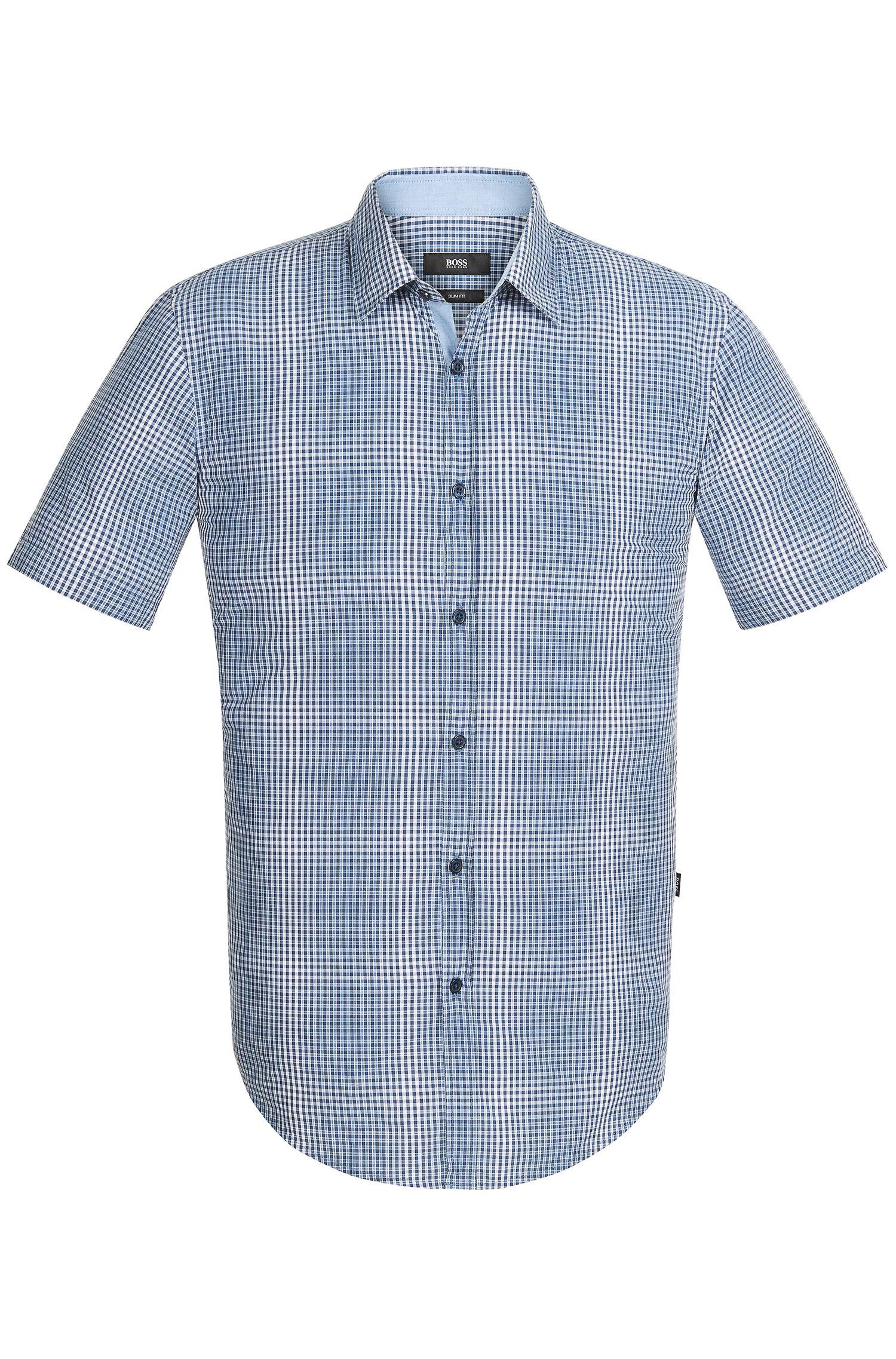 'Ronn' | Slim Fit, Cotton Button Down Shirt