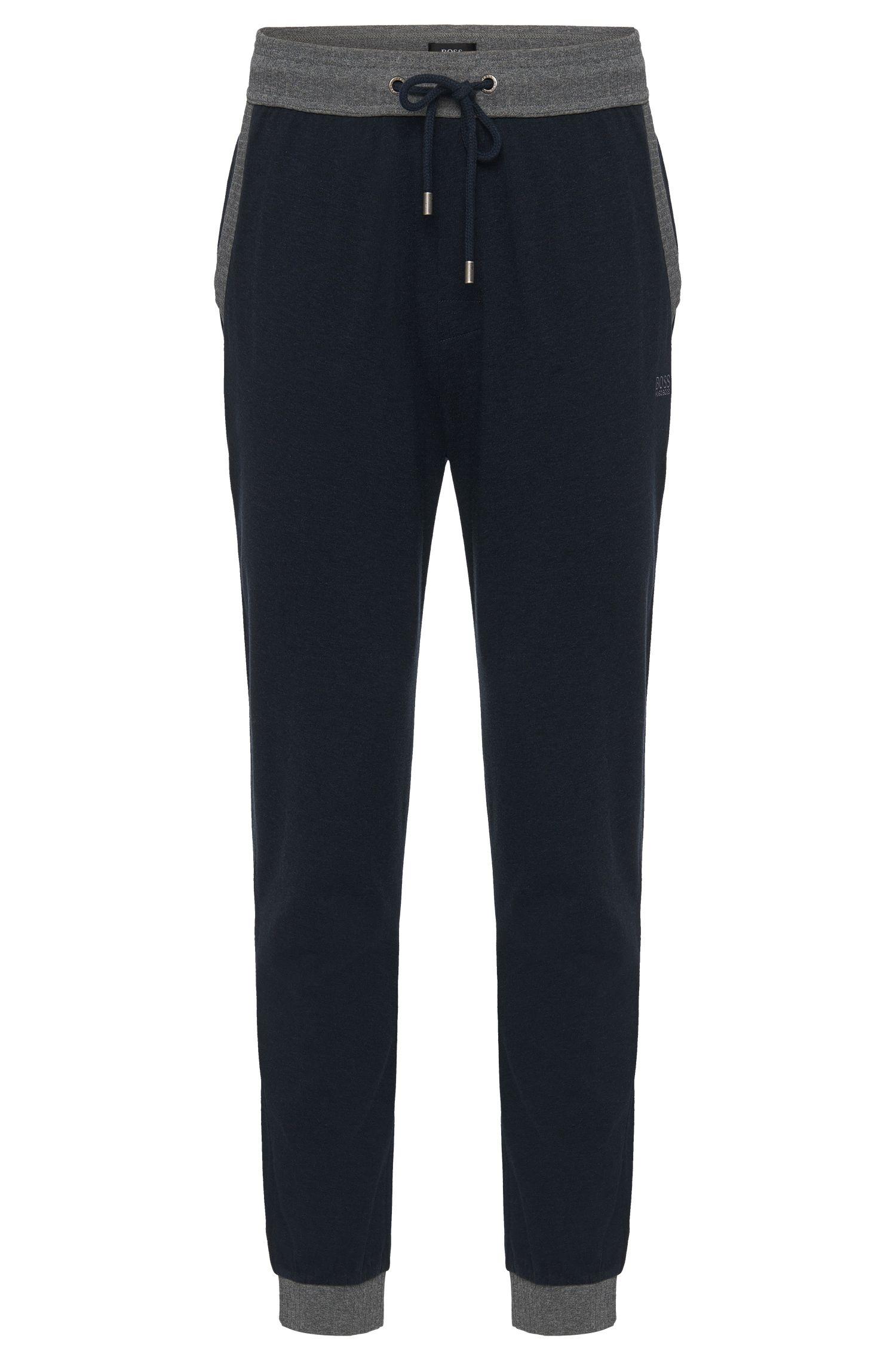 'Long Pant Cuffs' | Cotton Drawstring Sweat Pants