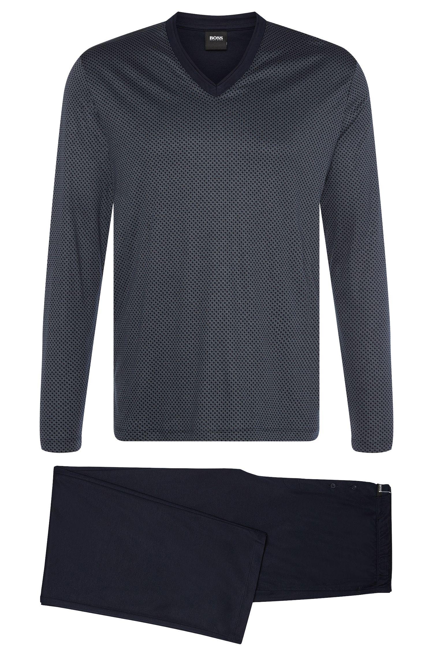 'Set Long Jersey' | Cotton Modal Loungewear Set