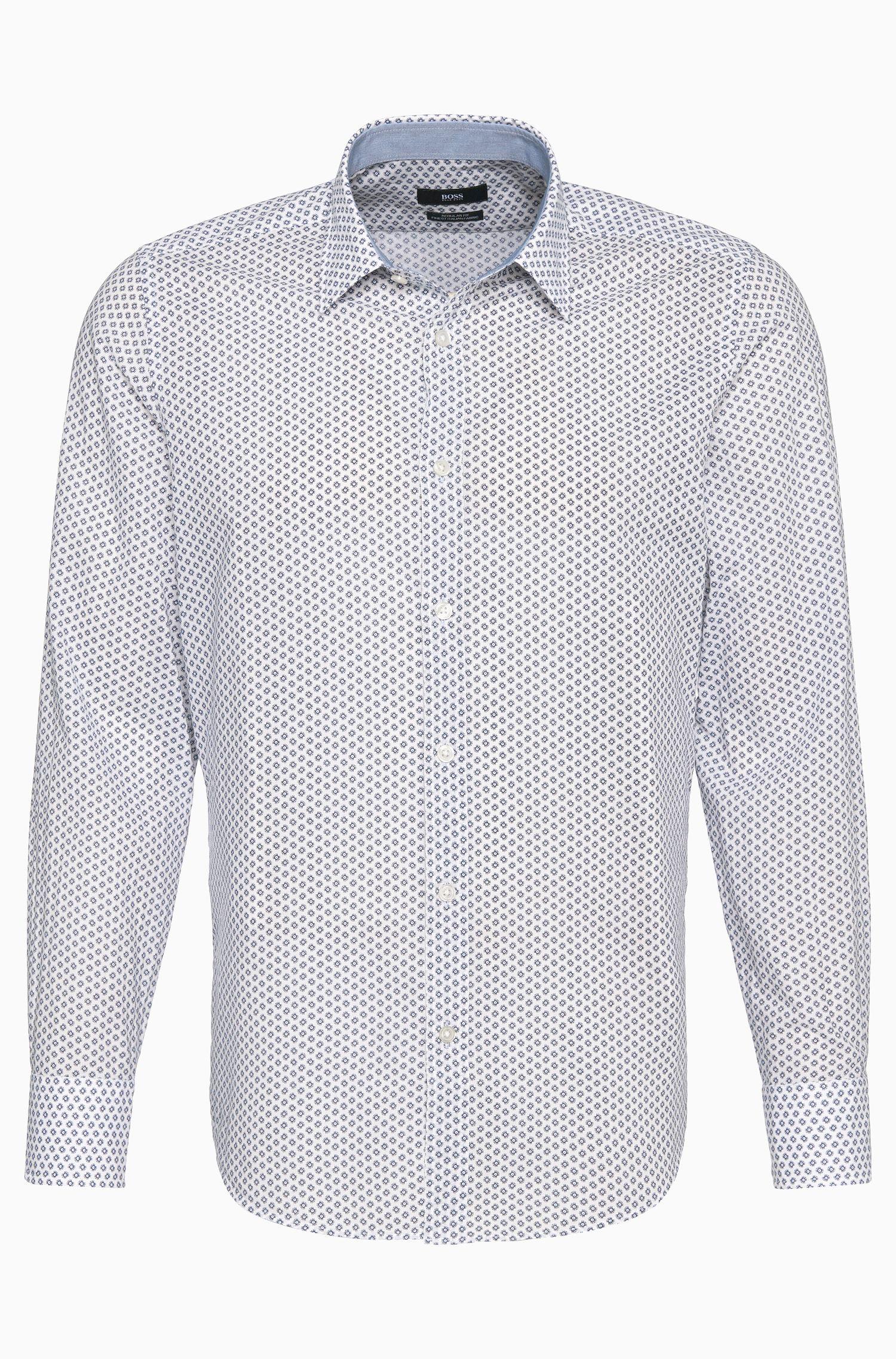 'Lukas' | Regular Fit, Cotton Button Down Shirt