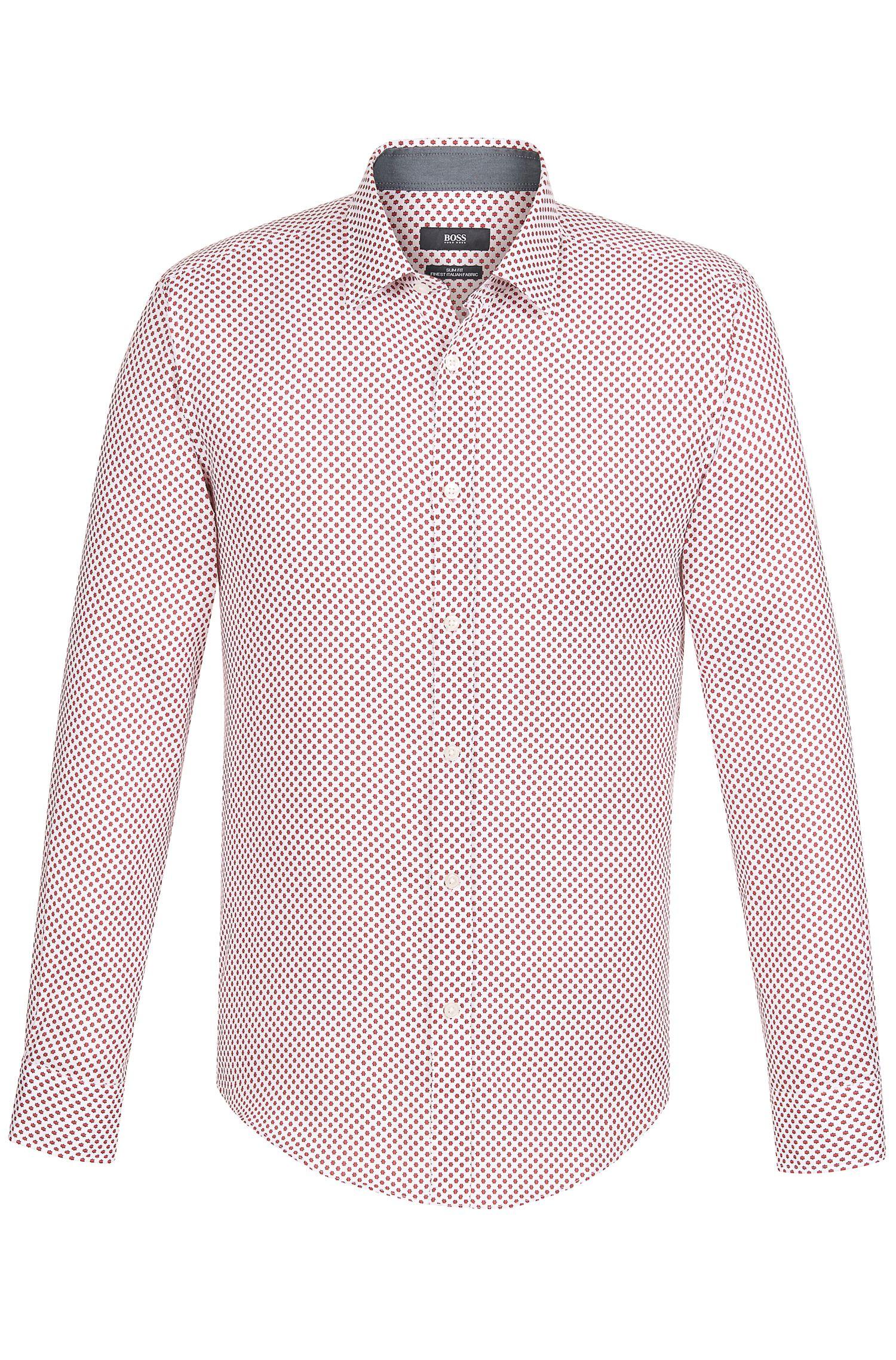 'Ronny' | Slim Fit, Cotton Button Down Shirt
