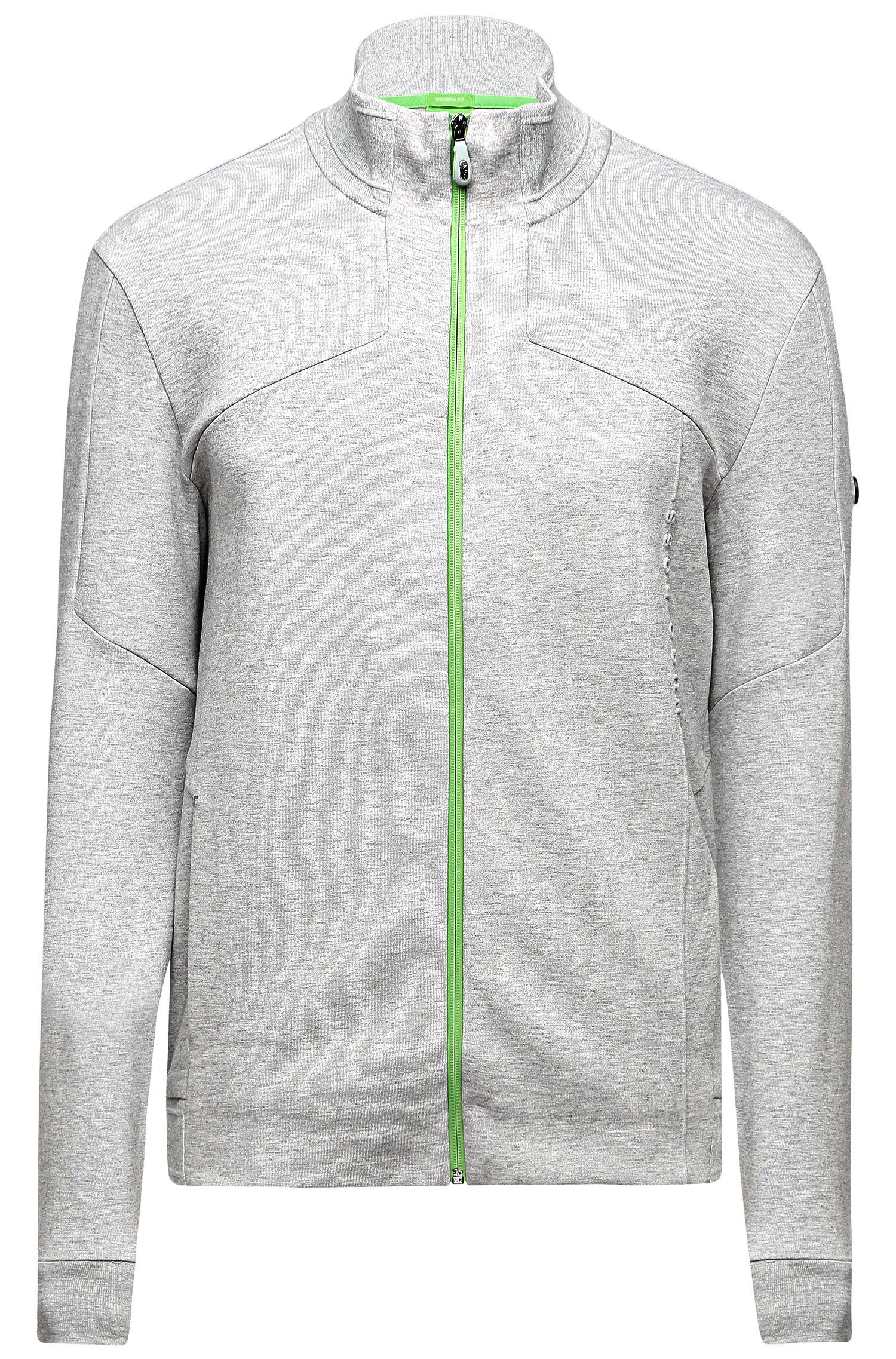 'Skaron' | Cotton Blend Sweatshirt Jacket