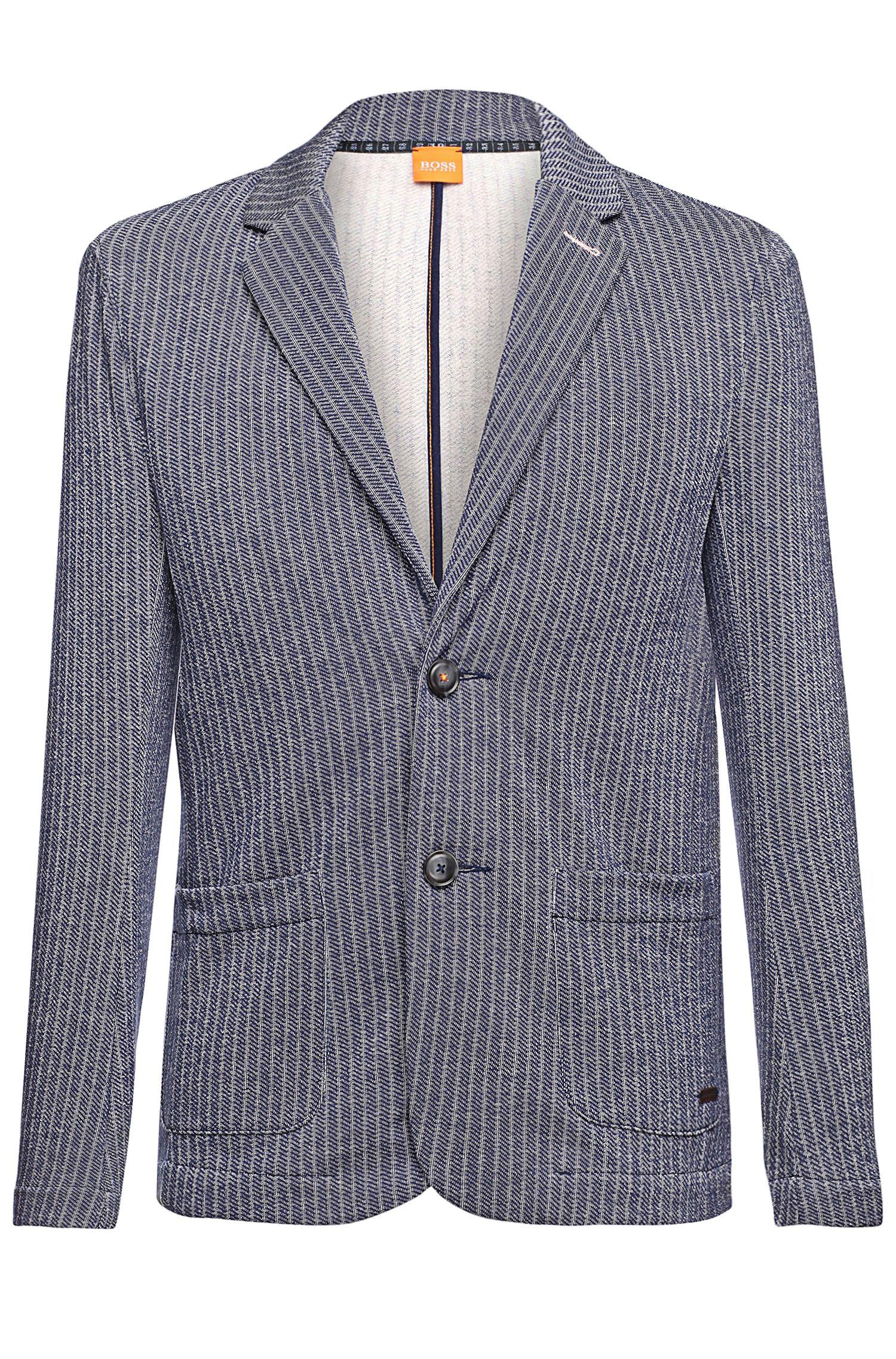 'Wallentin' | Slim Fit, Soft Terry Sport Coat
