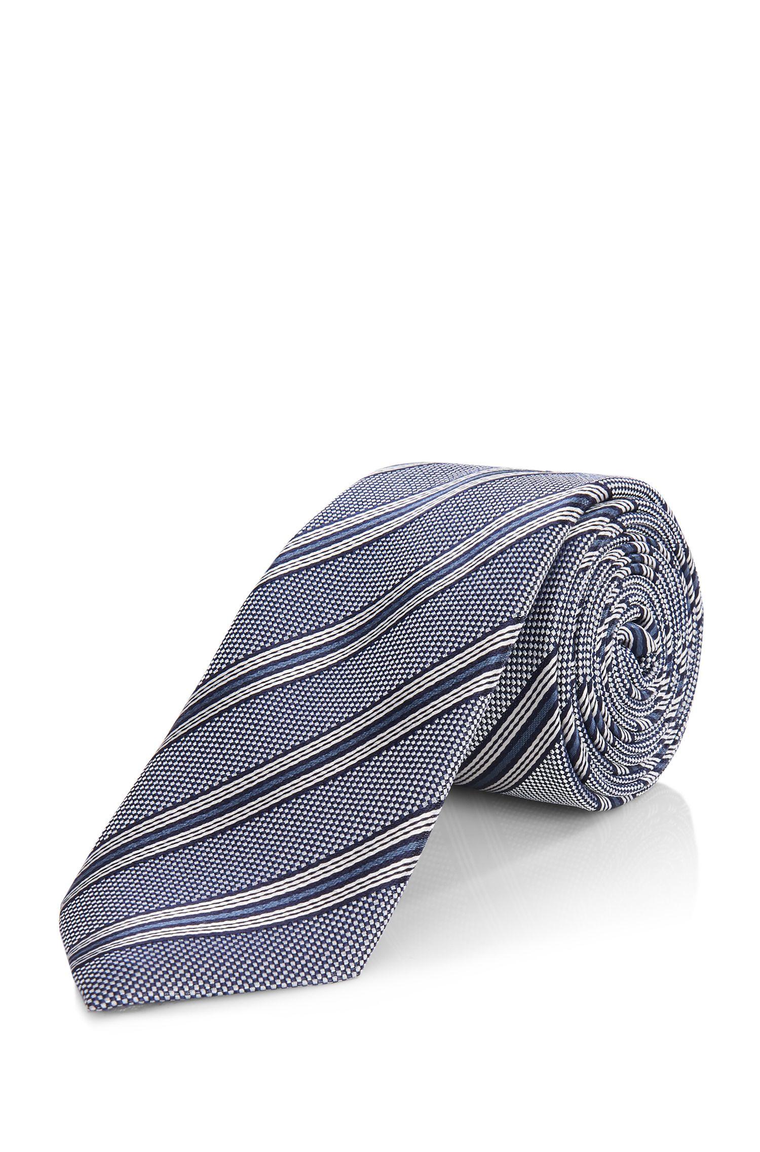 'Tie 6 cm' | Slim, Silk Patterned Tie