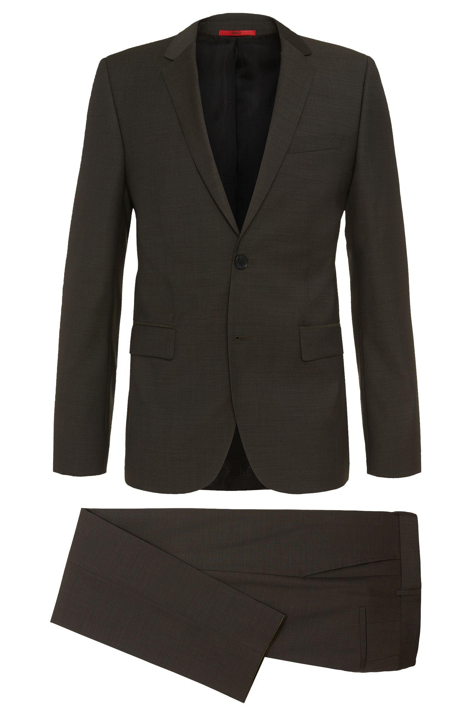 'Aeron/Hamen'   Slim Fit, Super 100 Virgin Wool Suit