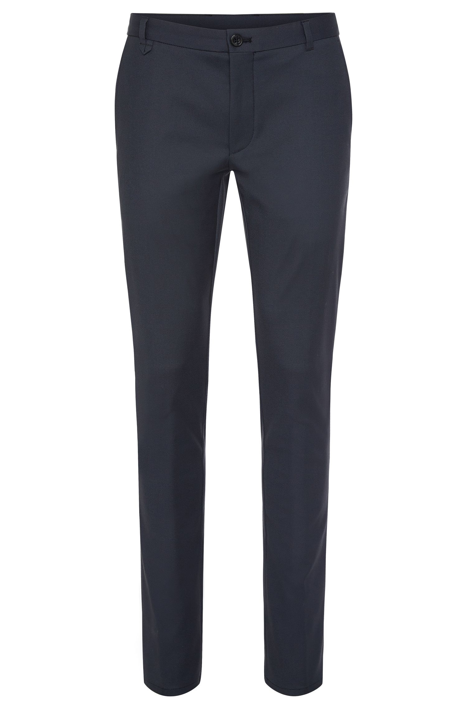 'Heldor' | Extra Slim Fit, Stretch Cotton Dress Pants