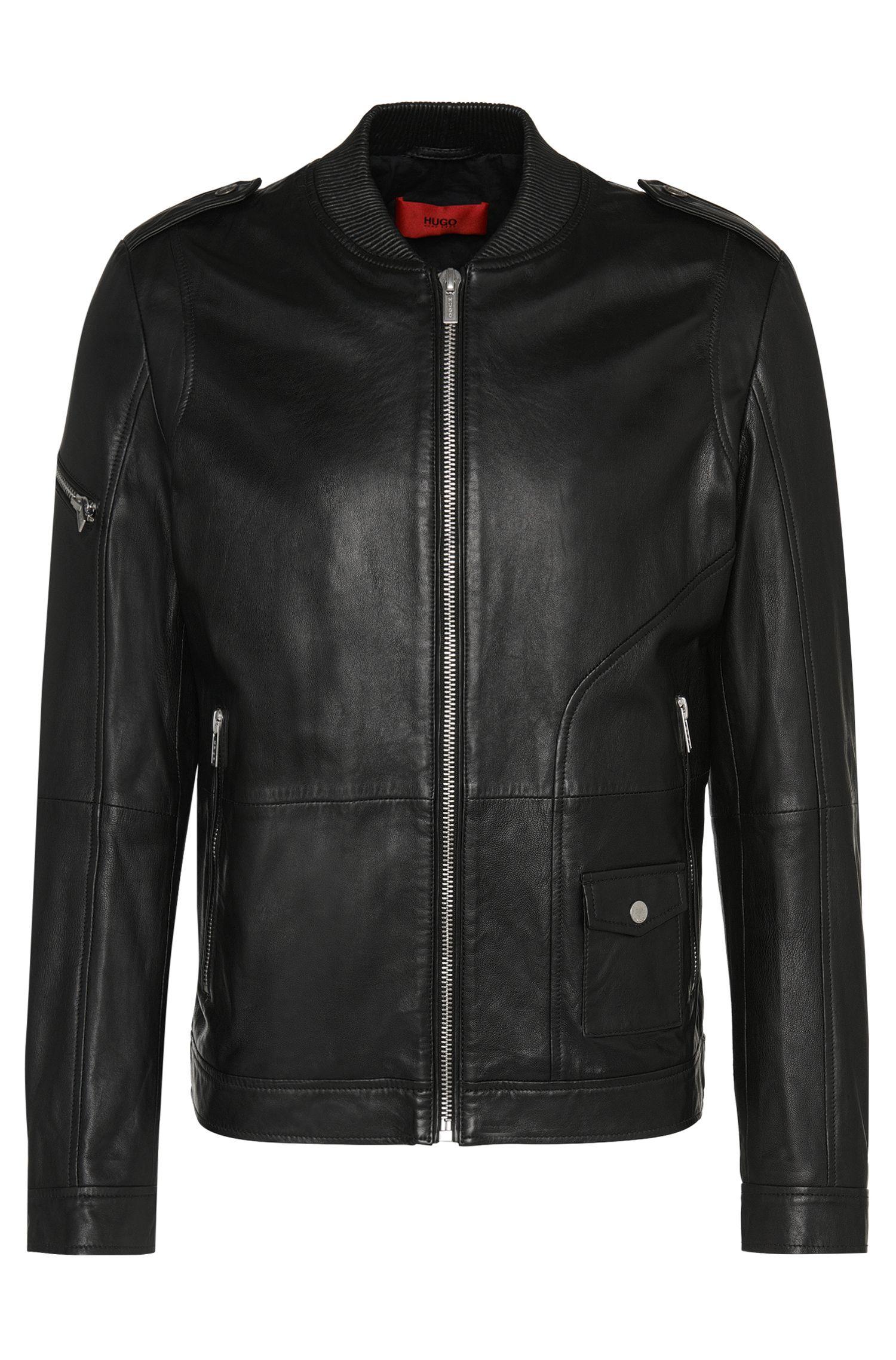 'Lexner' | Lamb Leather Jacket