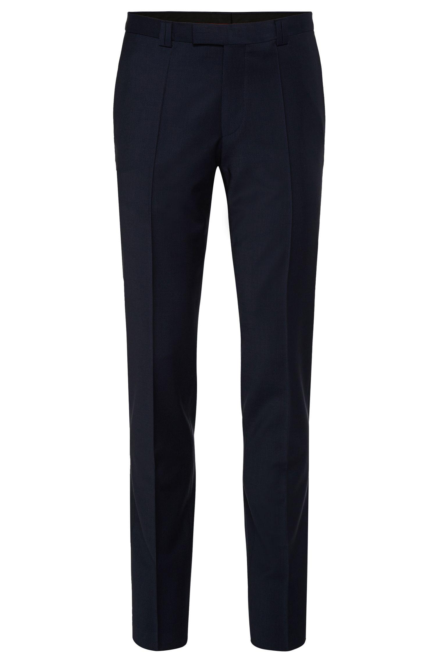 'Heibo'   Extra Slim Fit, Stretch Virgin Wool Blend Dress Pants