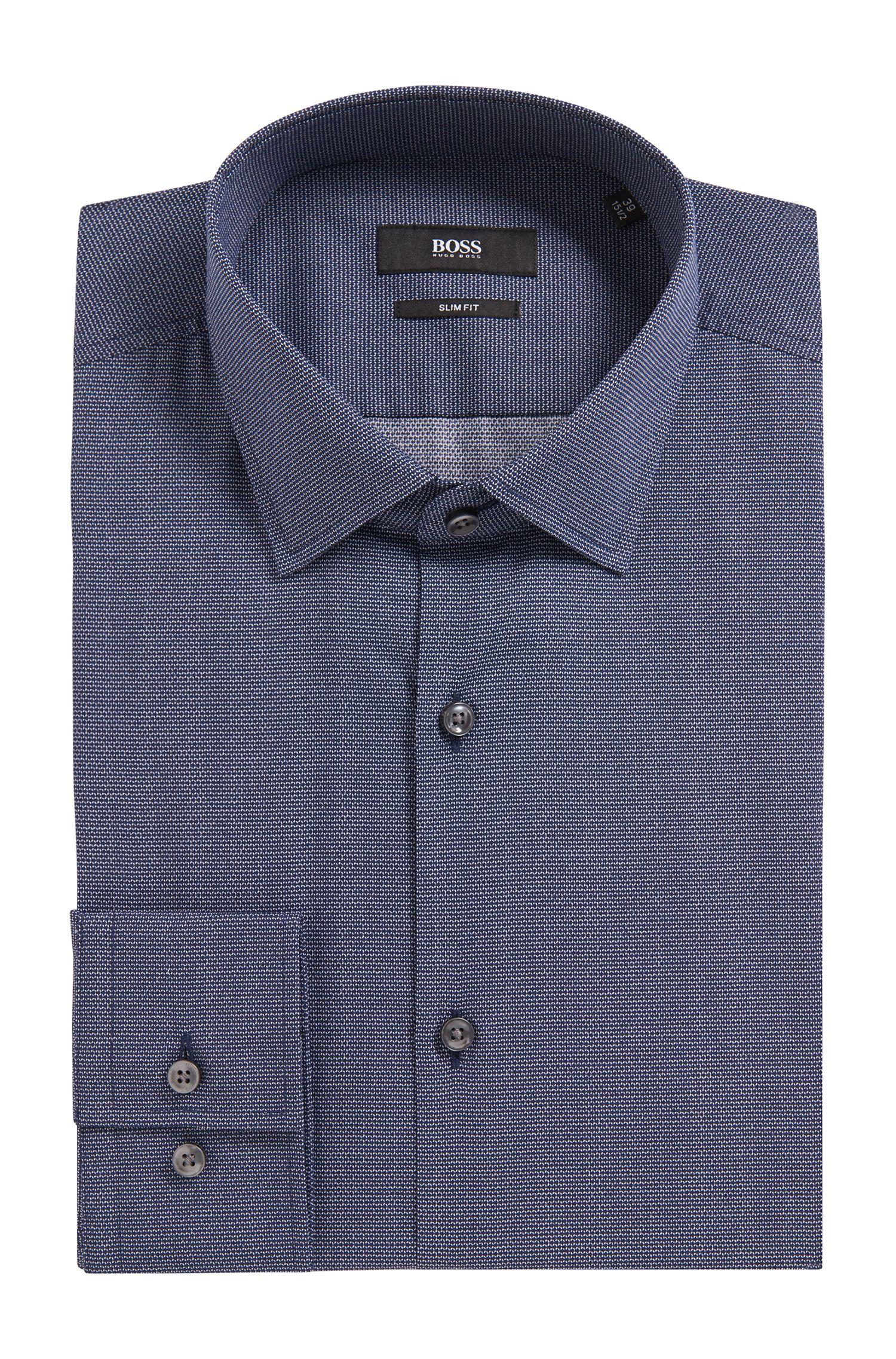 'Jenno'   Slim Fit, Italian Cotton Dress Shirt