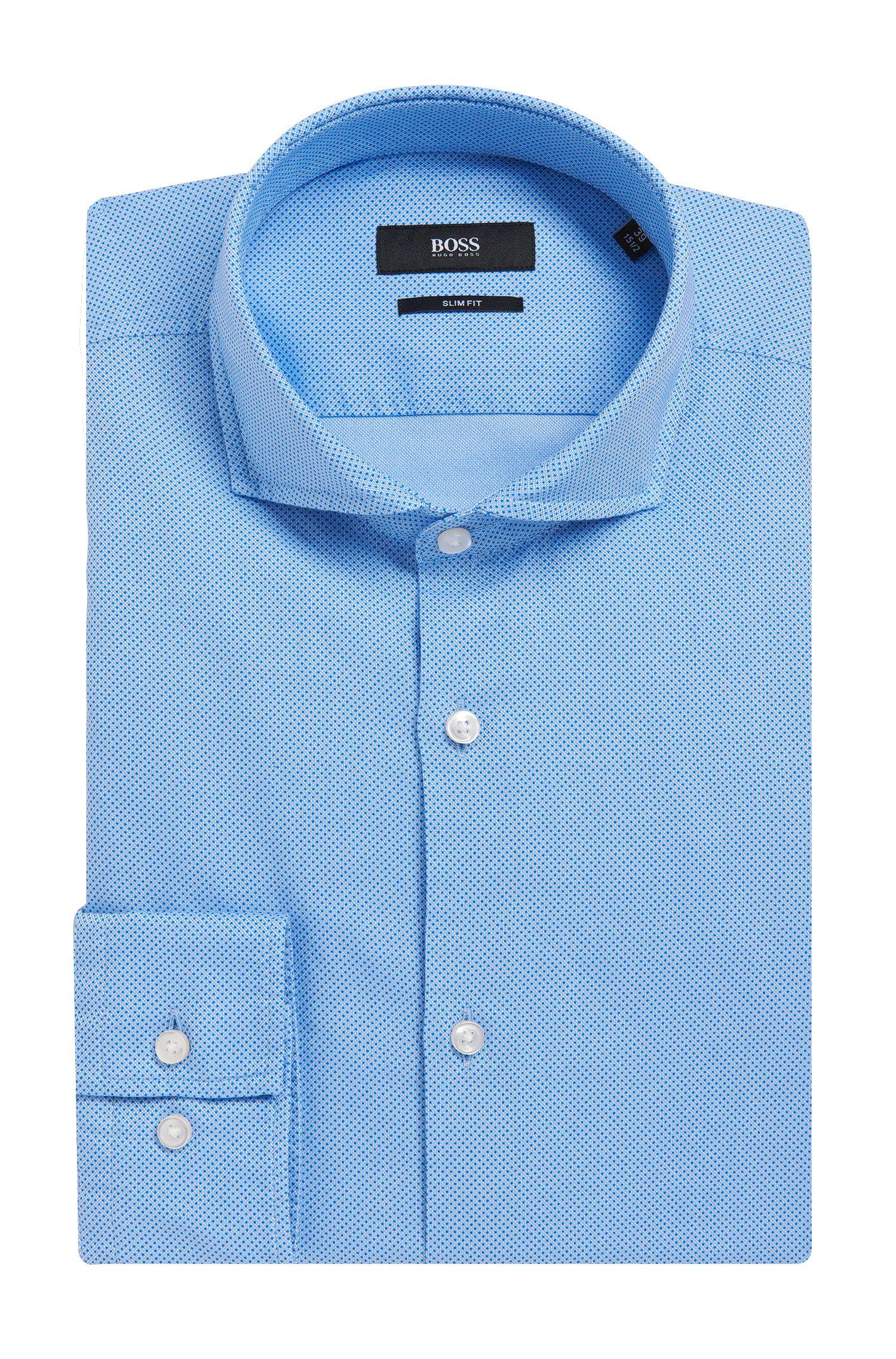 'Jaxon' | Slim Fit, Italian Cotton Oxford Dress Shirt