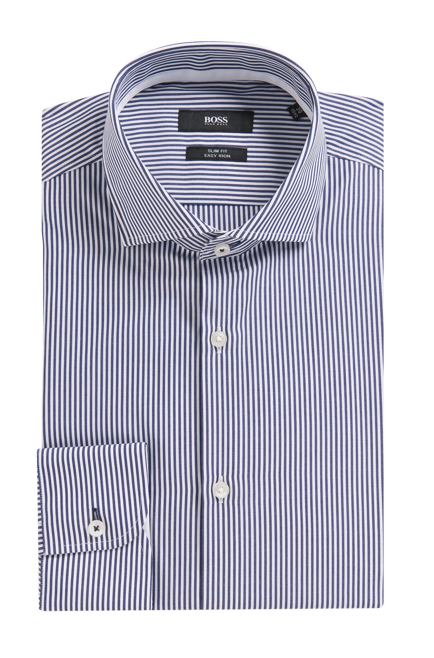 'Jery' | Slim Fit, Cotton Dress Shirt