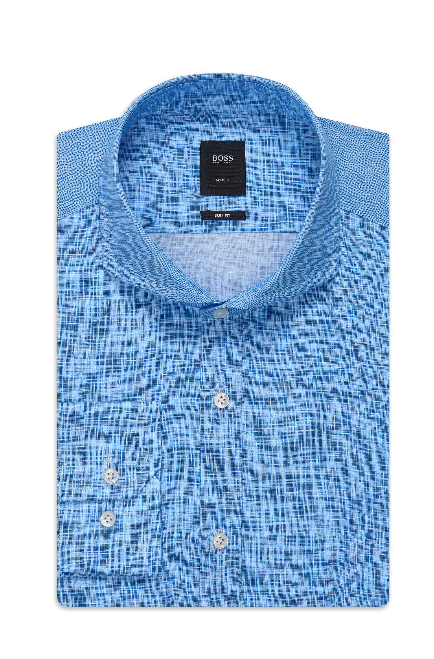 'T-Swain' | Slim Fit, Italian Cotton Dress Shirt