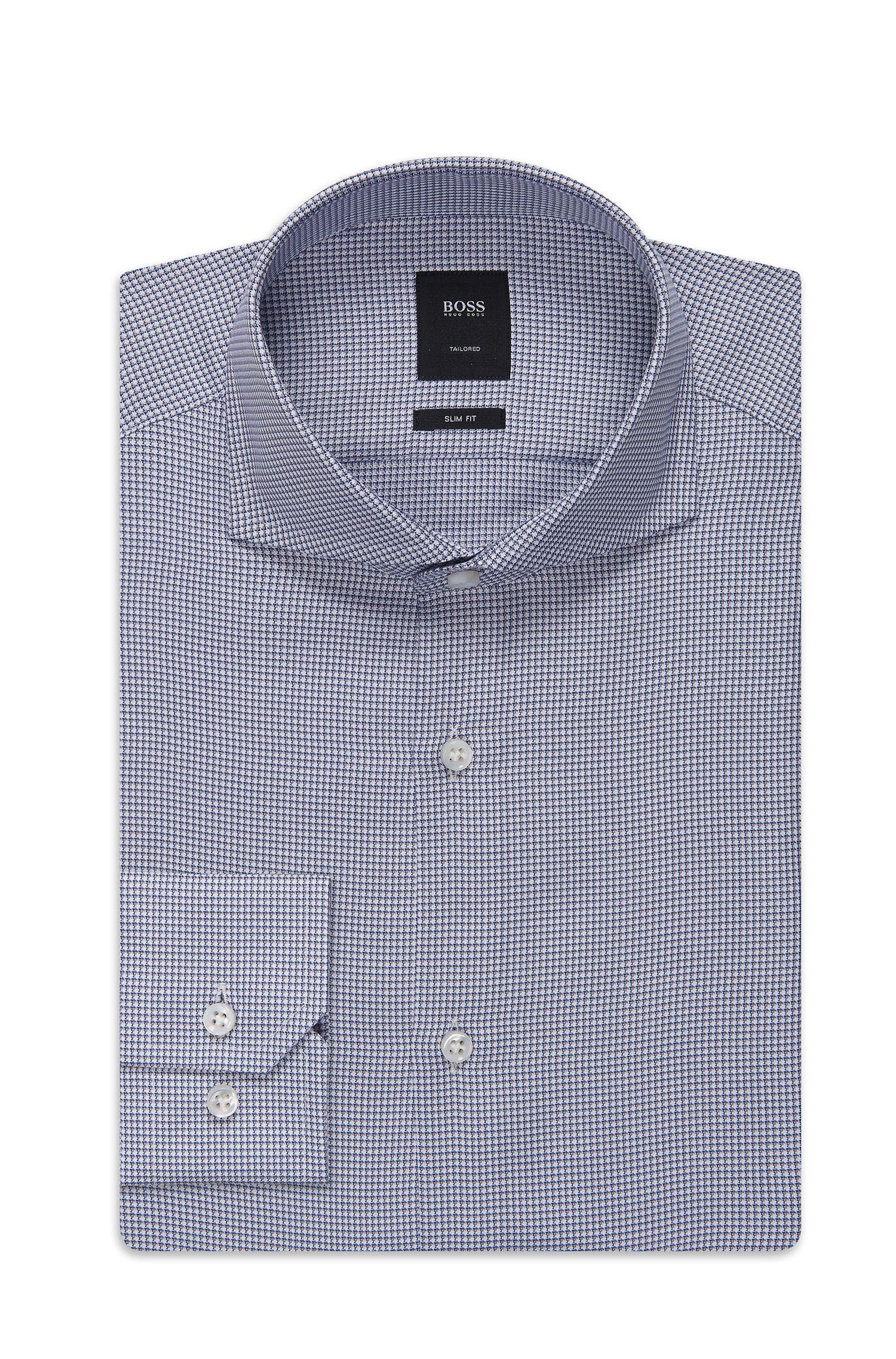 'T-Christo' | Slim Fit, Italian Cotton Dress Shirt