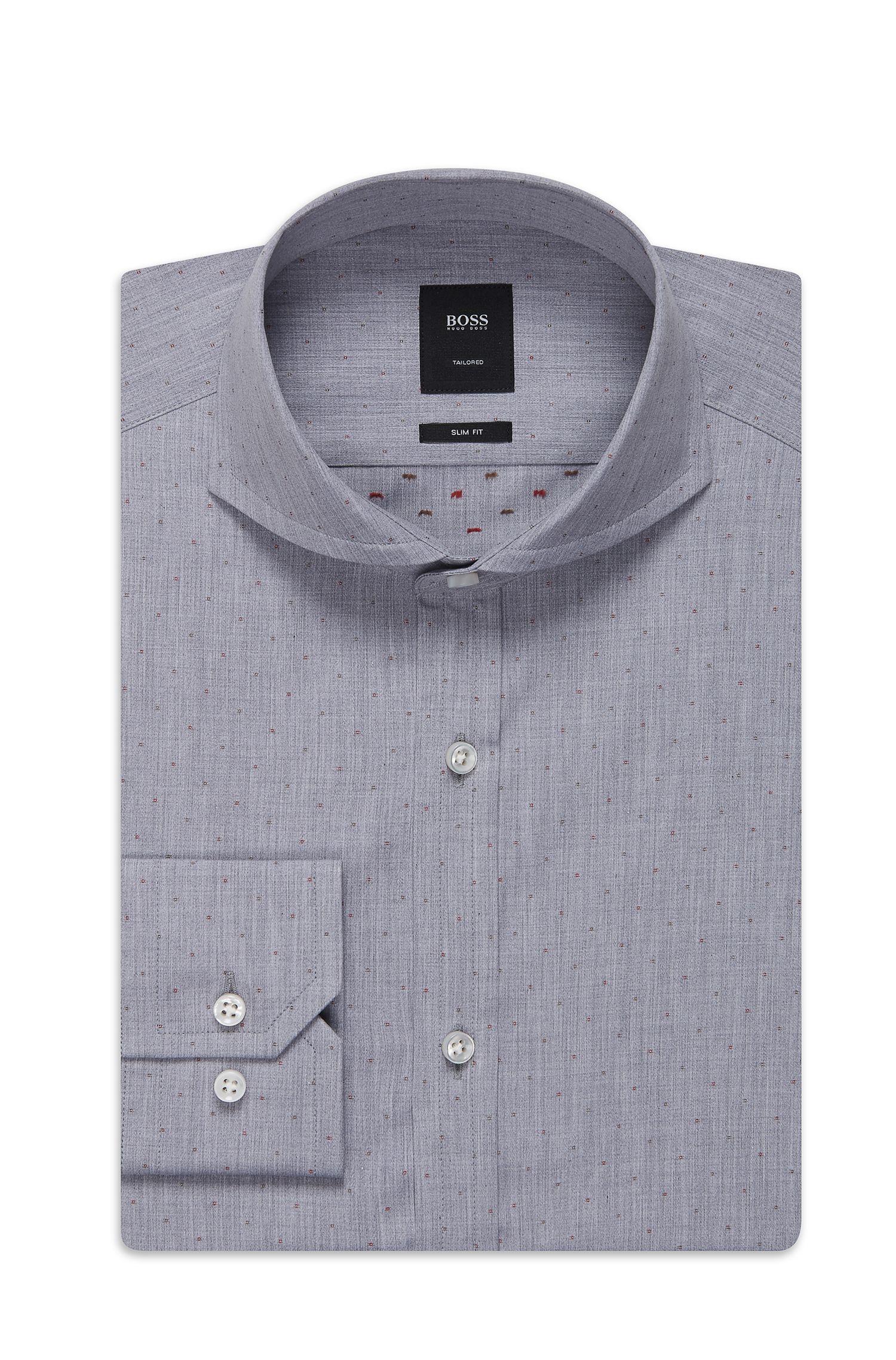 'T-Swain'   Slim Fit, Italian Cotton Dress Shirt