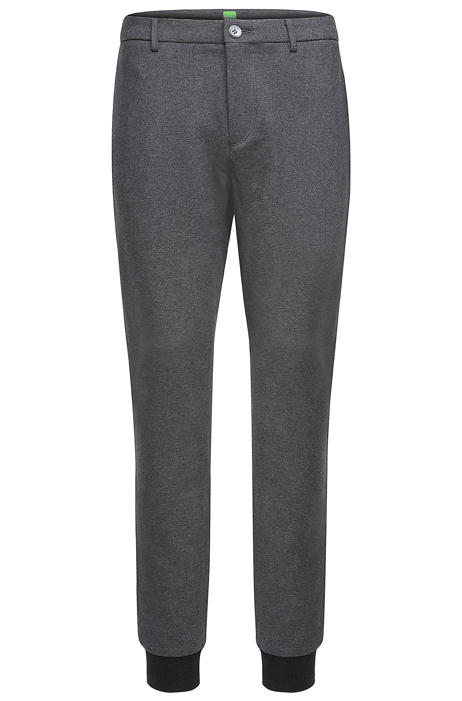 'Lukes' | Slim Fit, Stretch Cotton Jersey Pants