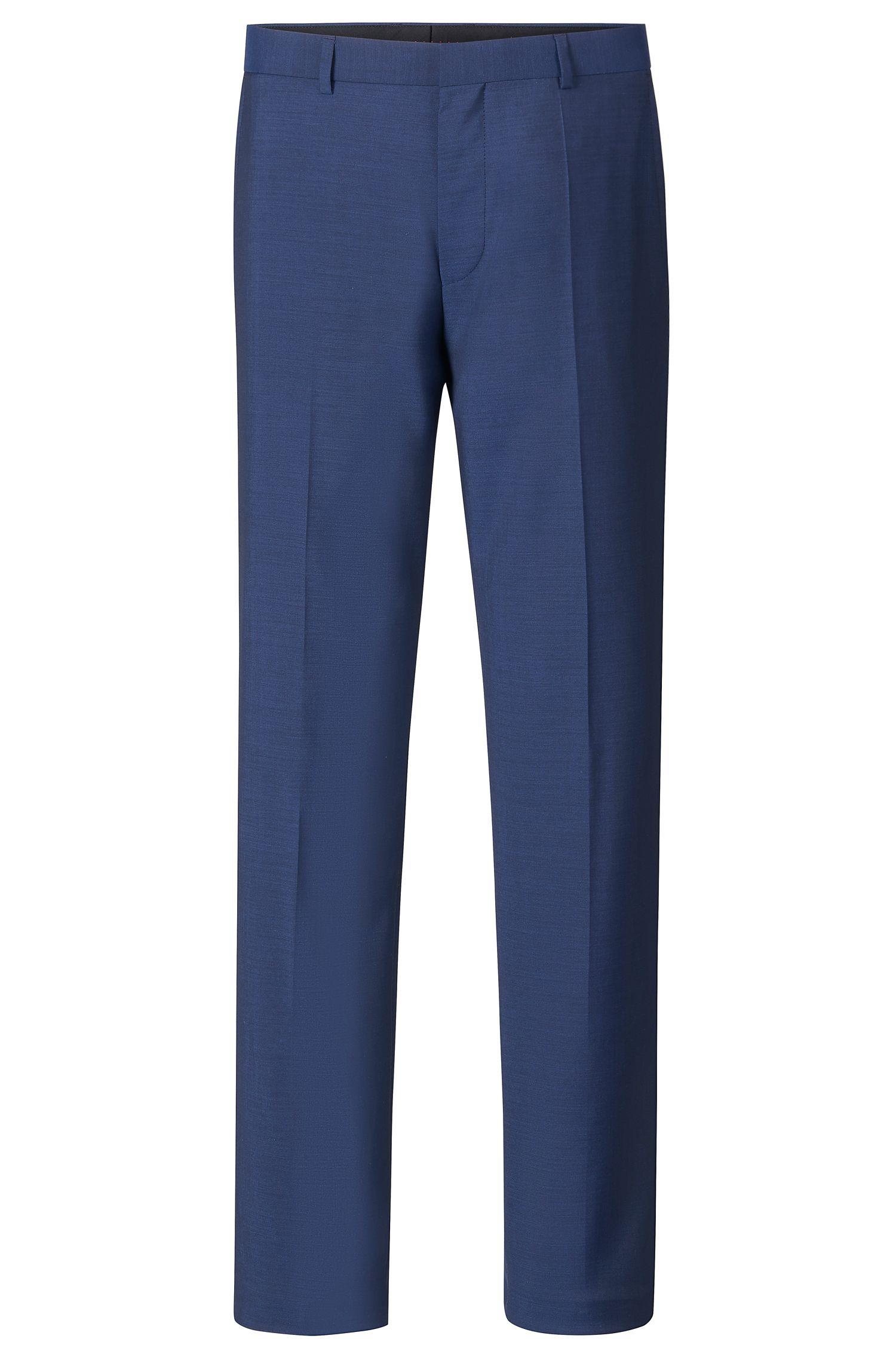 'Hamen'   Slim Fit, Virgin Wool Dress Pants