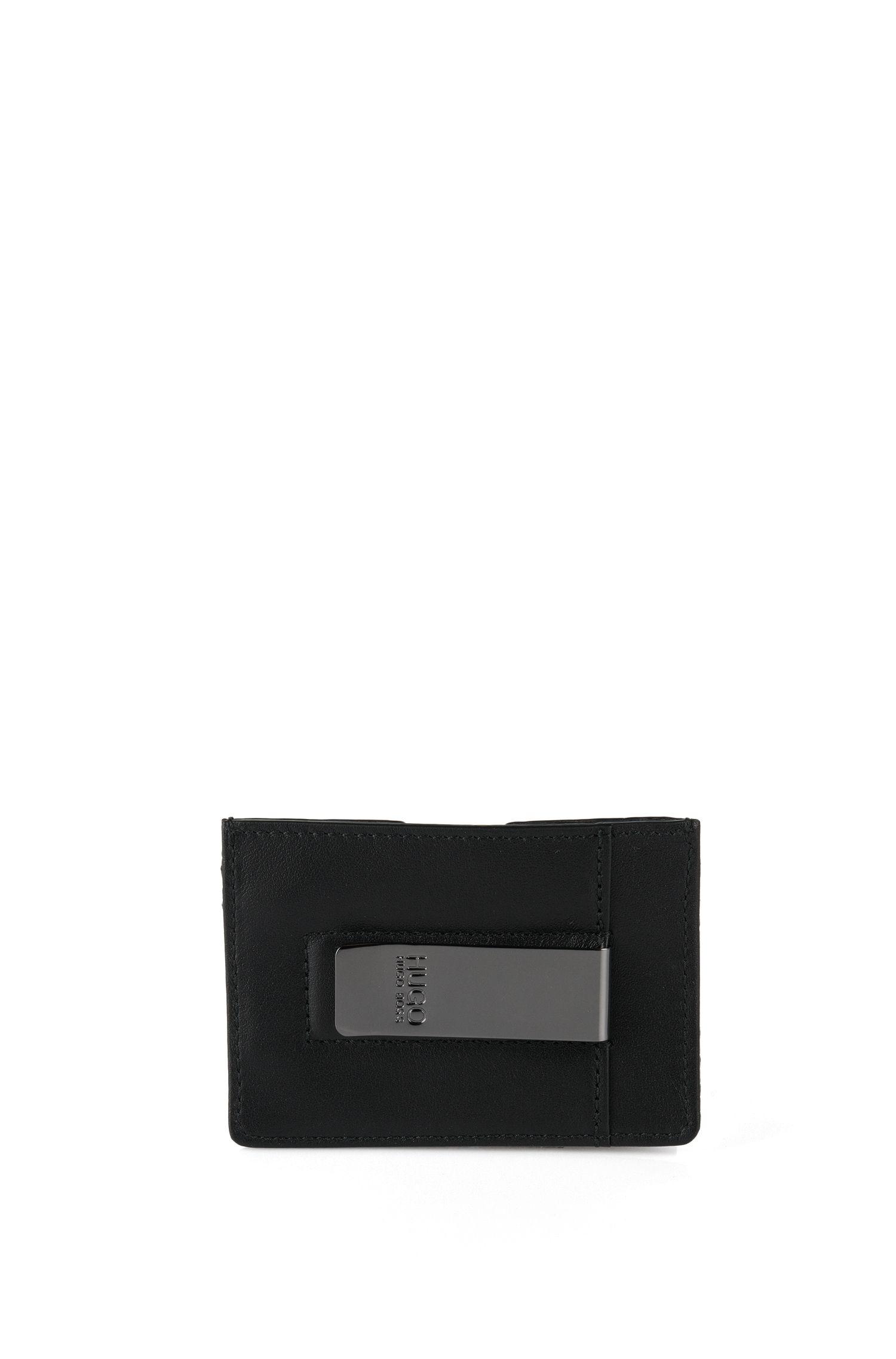'Paora' | Textured Leather Money Clip Wallet