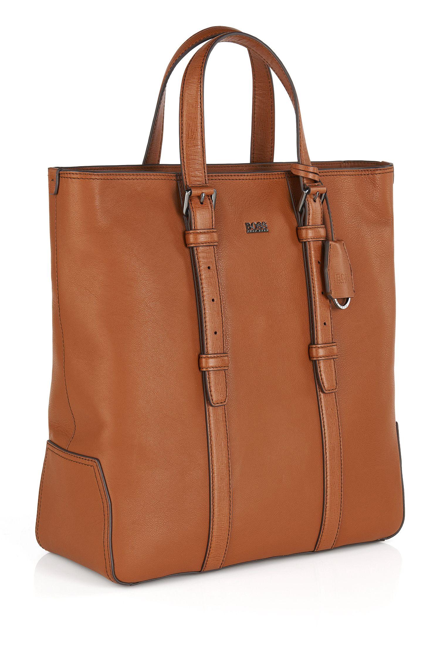 'Meir' | Leather Shopper