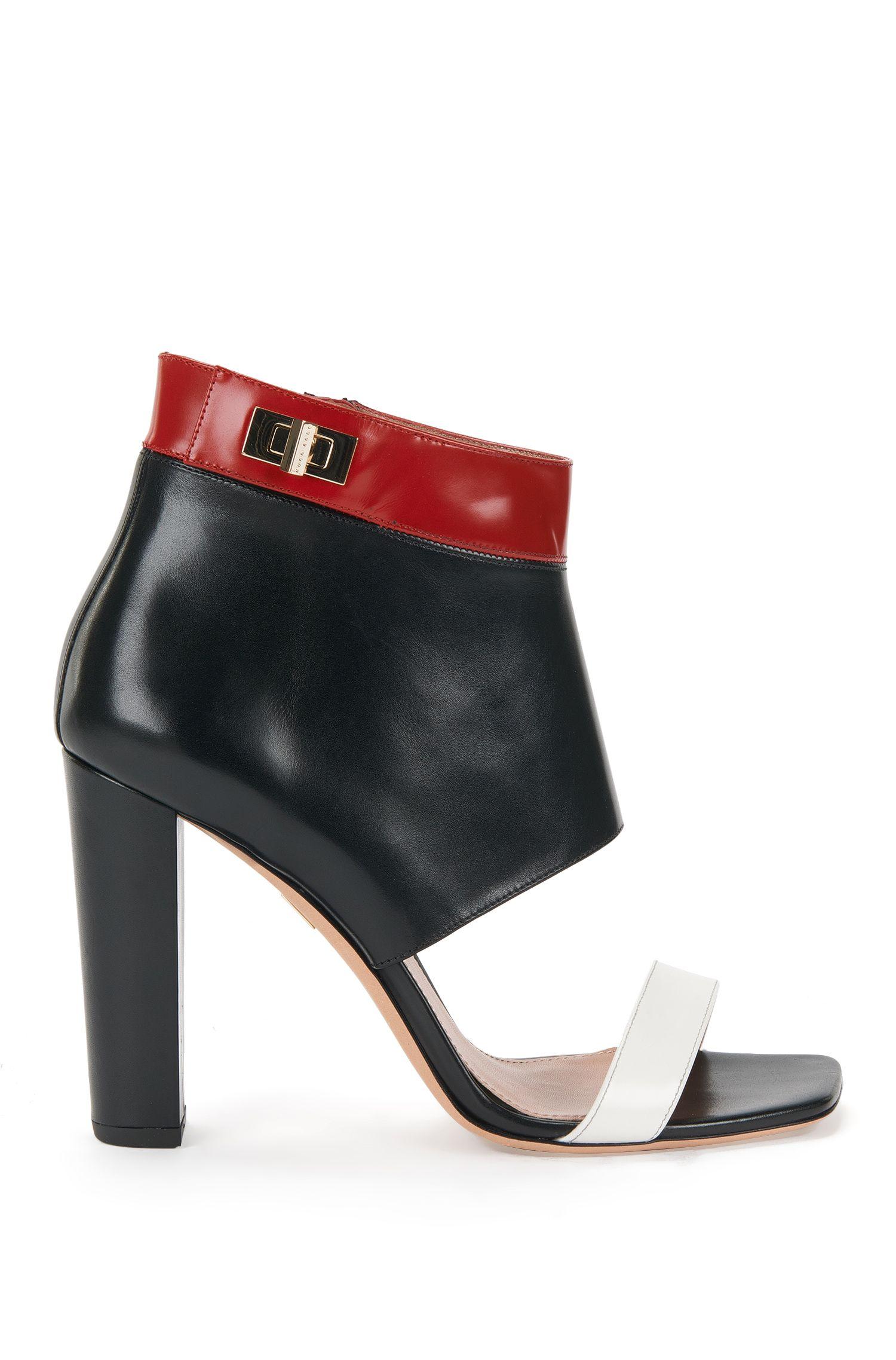 'BOSS Bespoke'   Calfskin Sandals