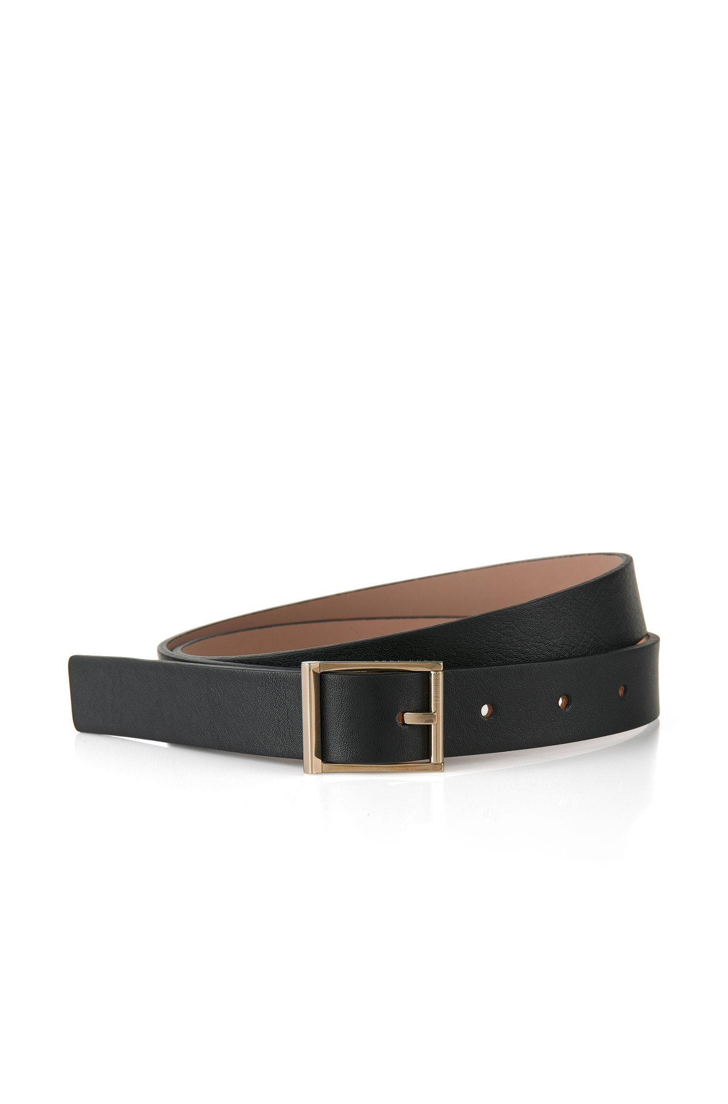 'Brier' | Italian Leather Belt by BOSS