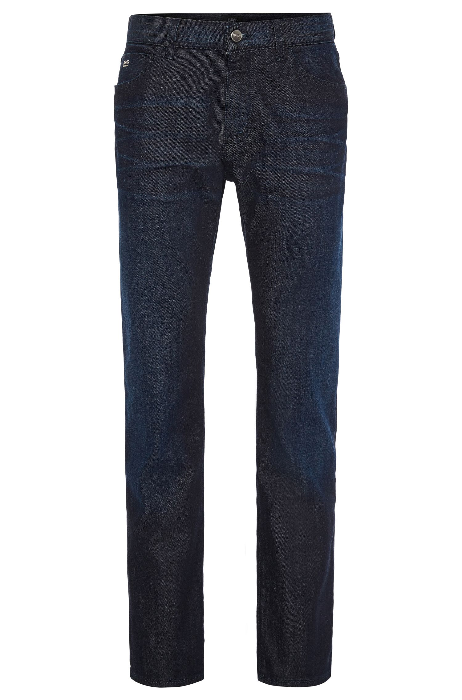'Maine' | Regular Fit, 10 oz Stretch Cotton Jeans