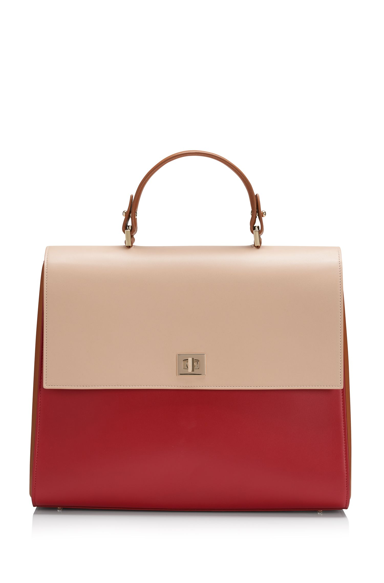 'Bespoke'    Leather Handbag, Detachable Strap