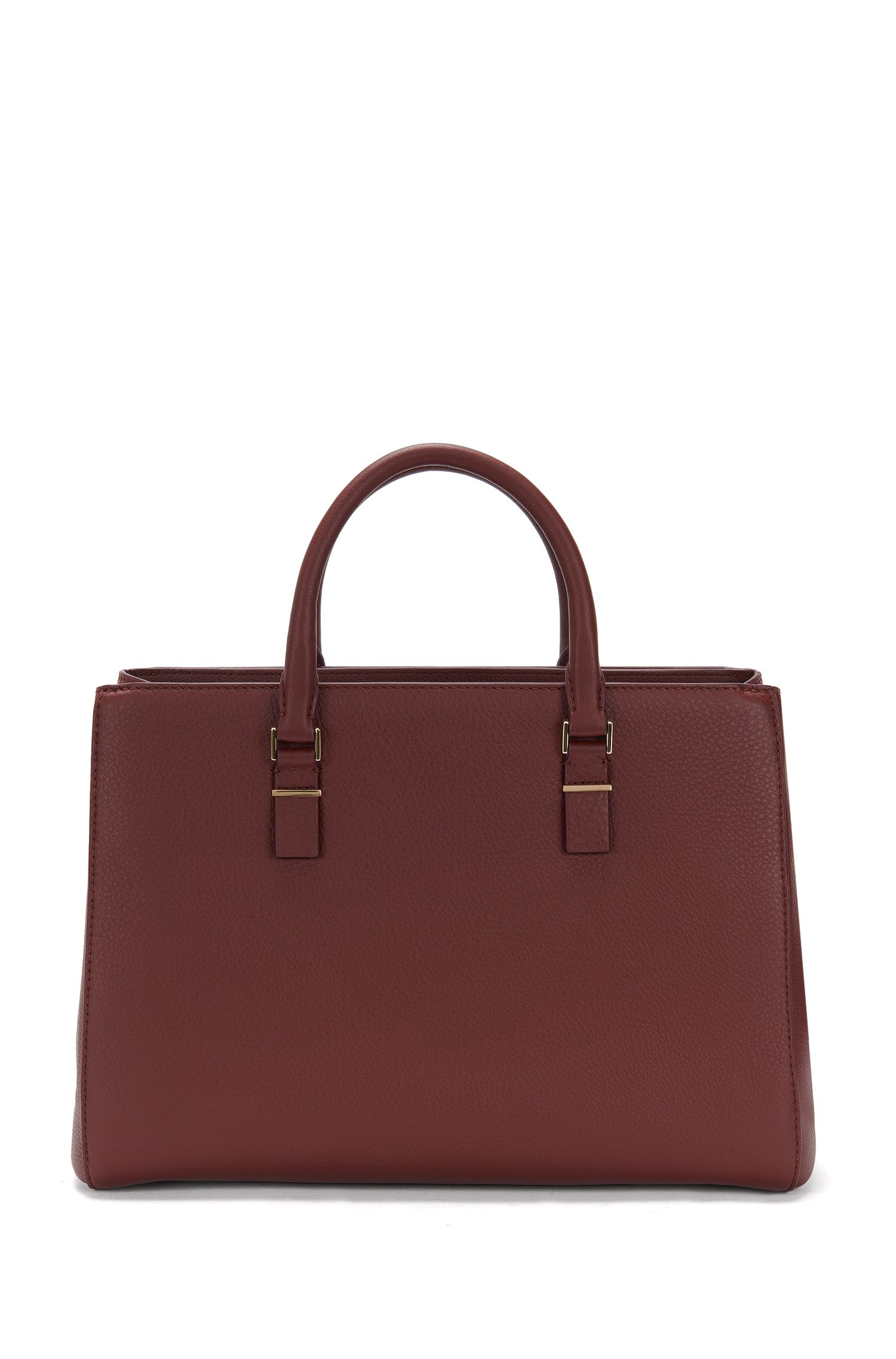 'Luxury Staple T. M-C'   Leather Pebbled Shopper Bag