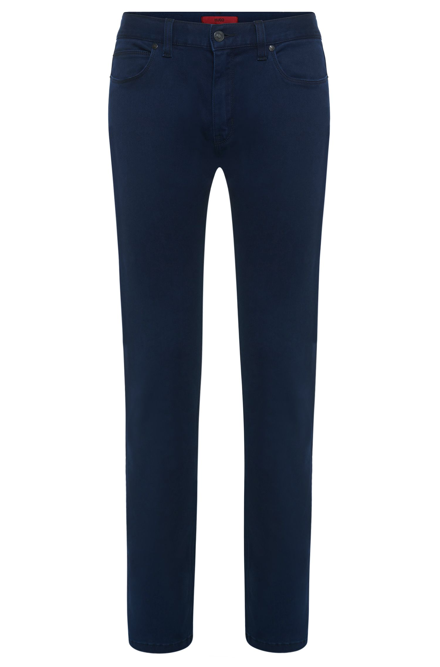 'HUGO 708' | Slim Fit, 11.75 oz Stretch Cotton Blend Jeans