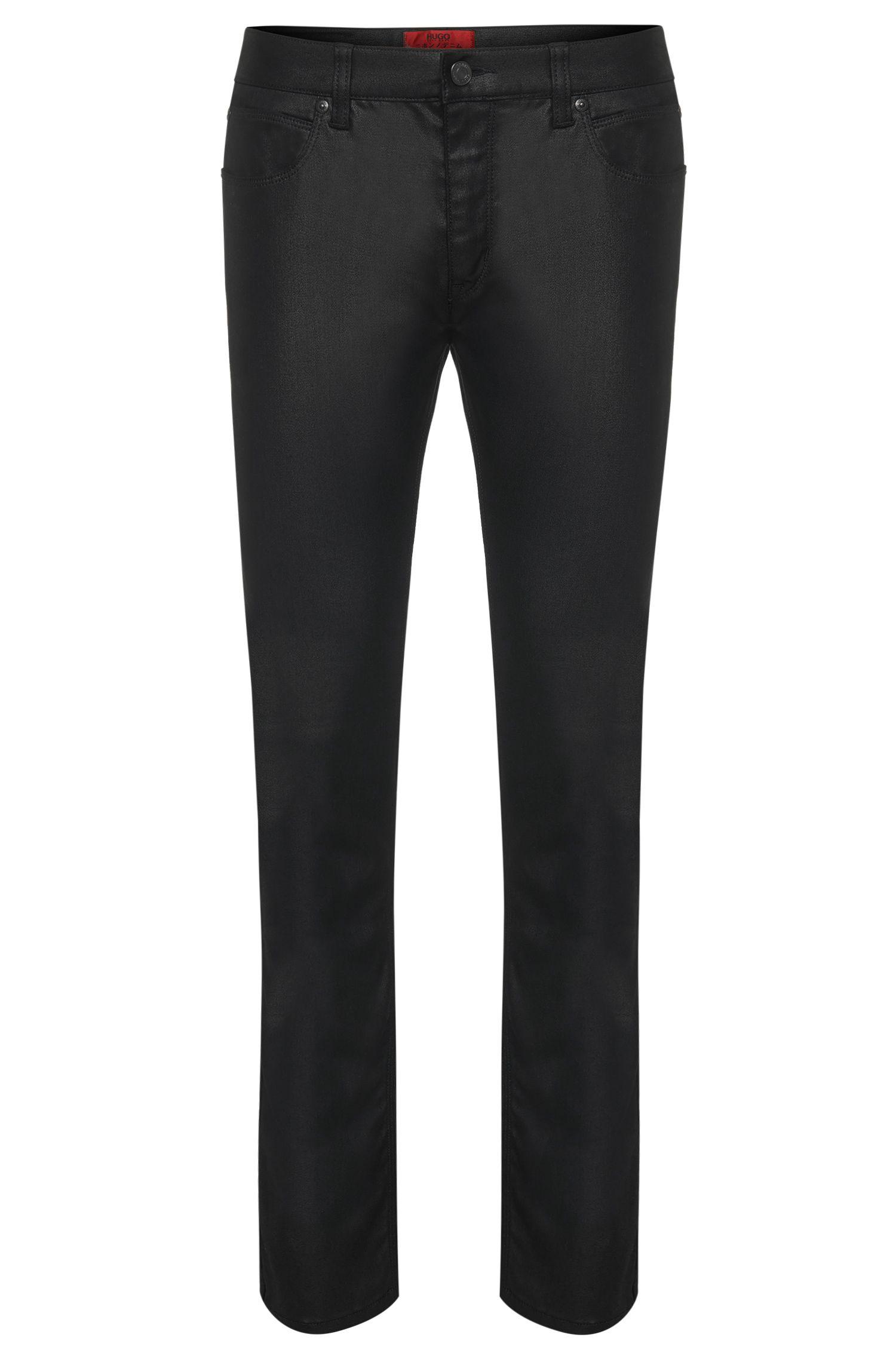 'HUGO 708' | Slim Fit, 9 oz Stretch Cotton Blend Jeans