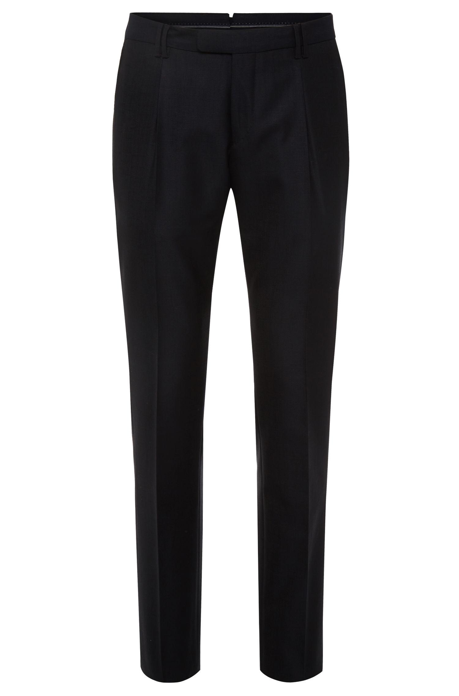 'T-Grovy' | Slim Fit, Italian Cotton Virgin Wool Dress Pants
