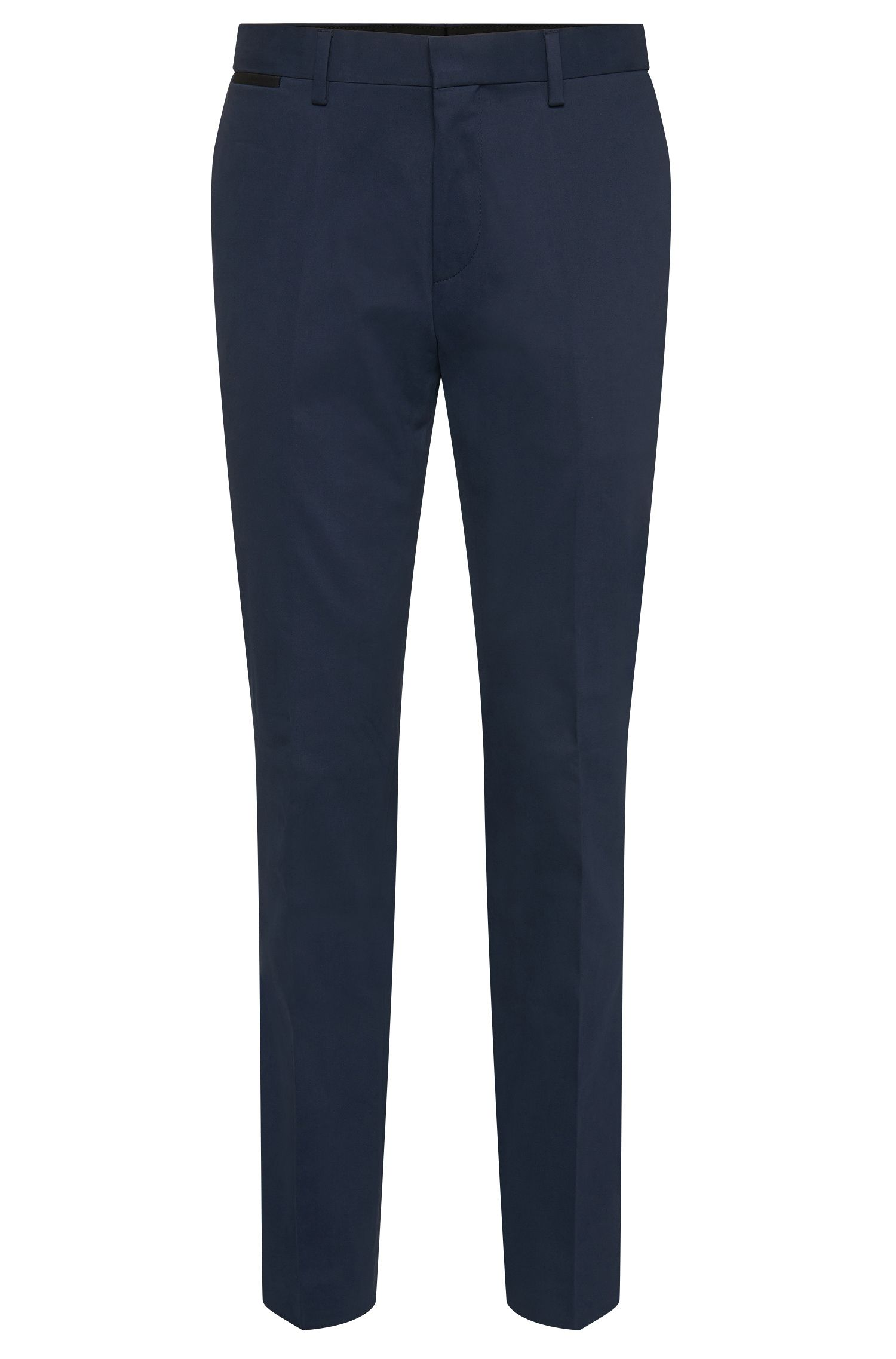 'Gehrys' | Slim Fit, Stretch Cotton Dress Pants