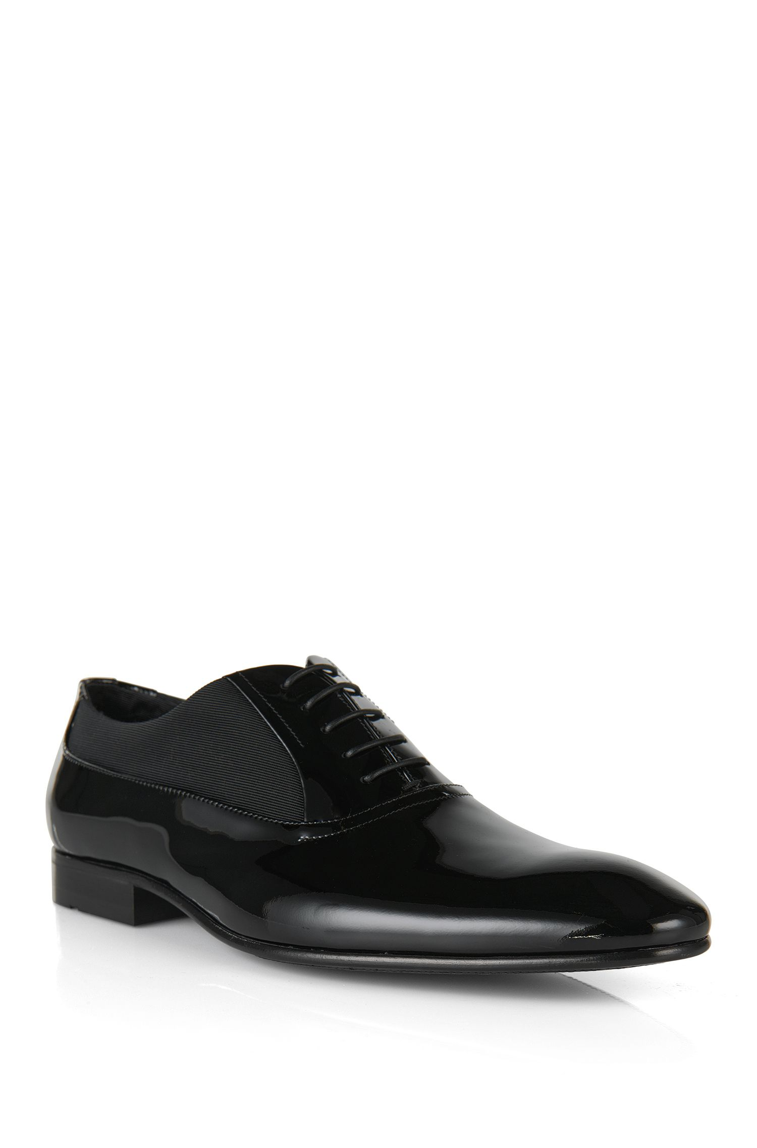'Evedox' | Calfskin Patent Oxford Dress Shoes