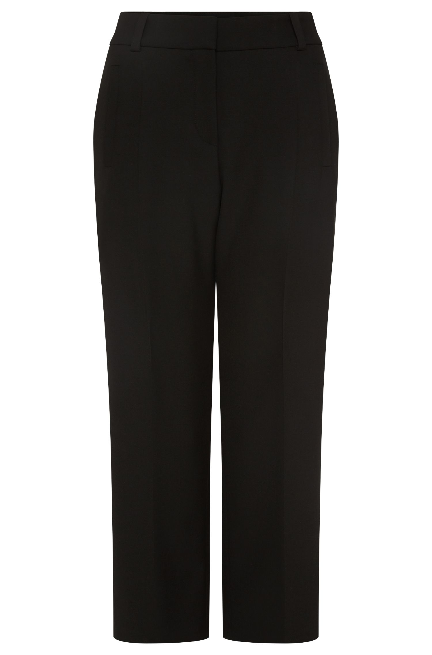 'Helizia' | Stretch Cotton Blend Ankle Pants