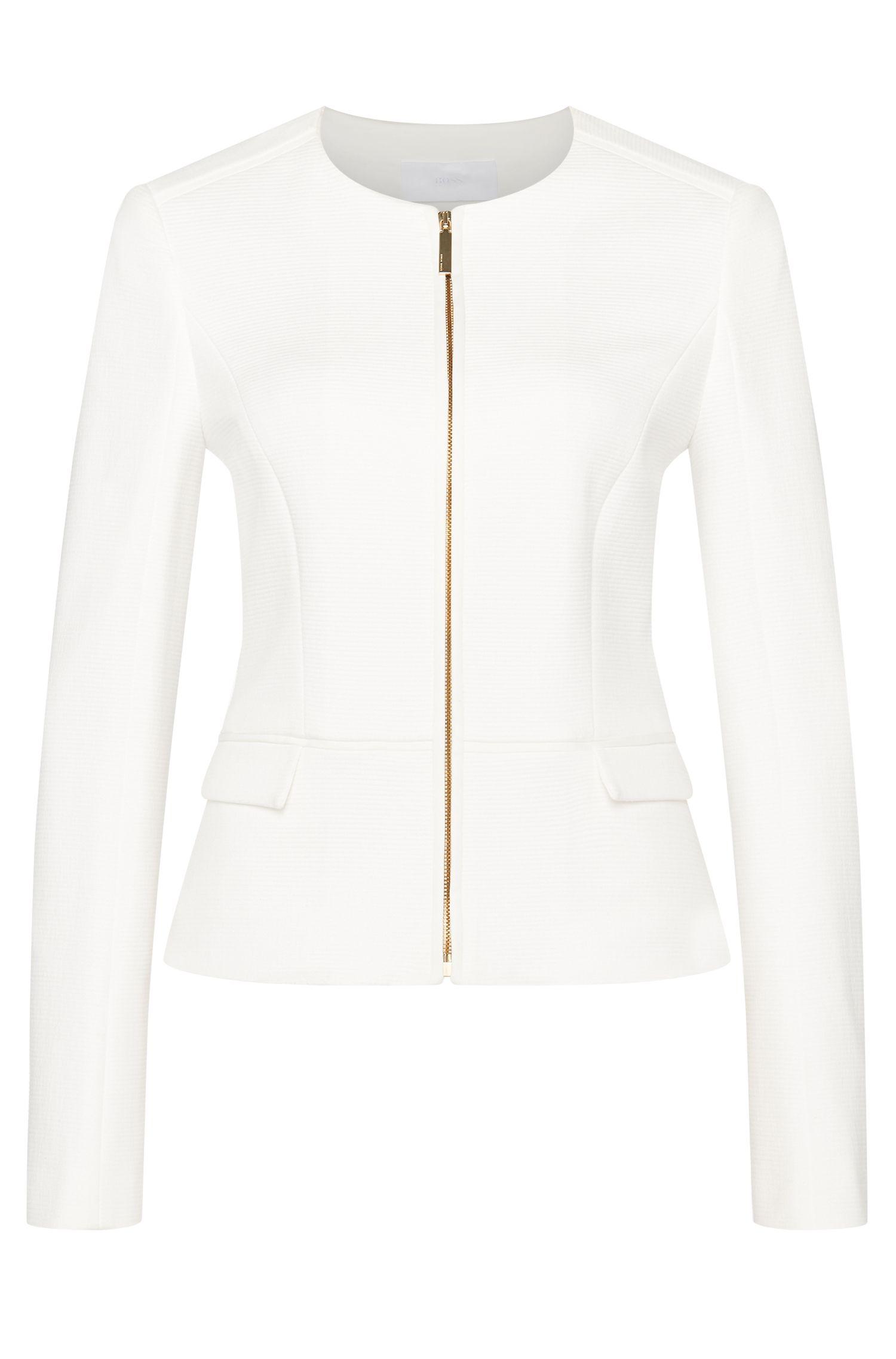 'Karletha' | Cotton Blend Jersey Jacket