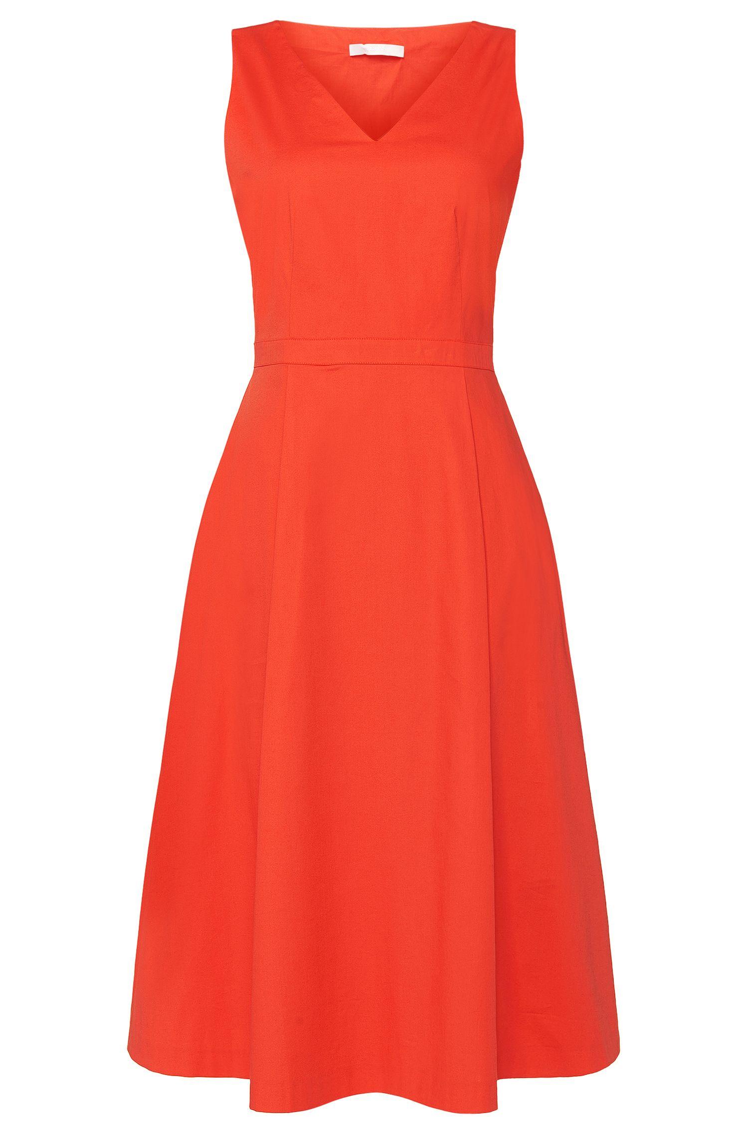 'Danana' | Stretch Cotton Cut Out Dress