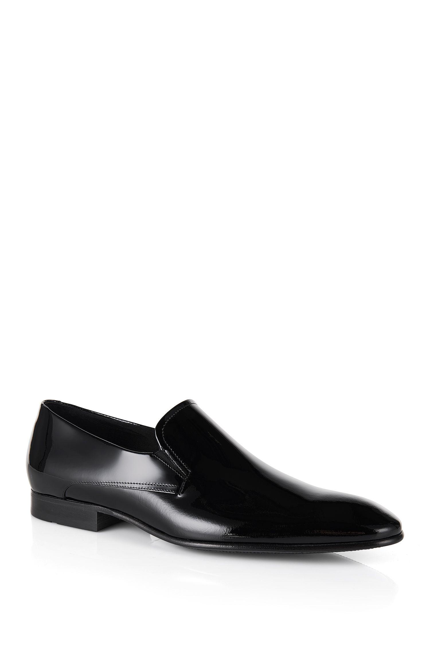 'Eveslip' | Italian Calfskin Patent Loafers