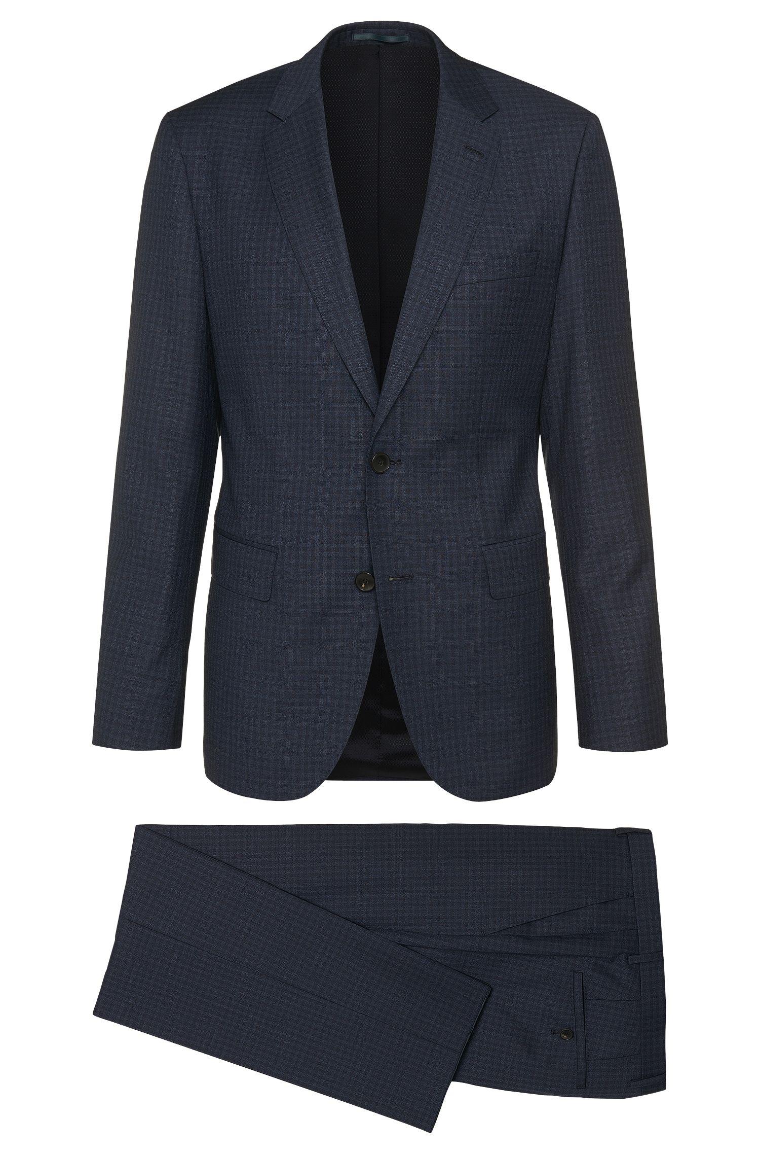 'Johnstons/Lenon' | Regular Fit, Virgin Wool Suit