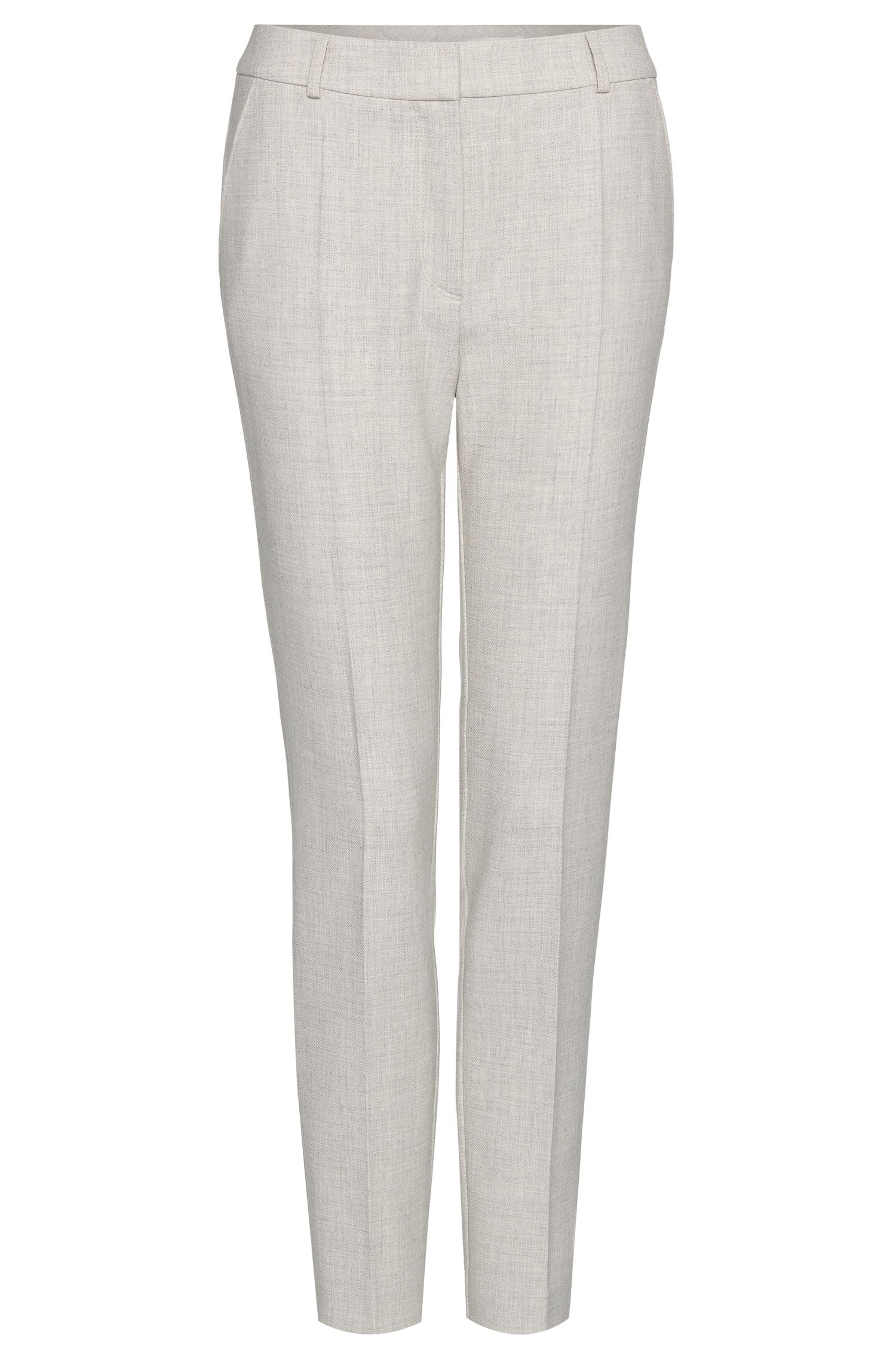 'Acnes' | Stretch Virgin Wool Blend Trousers
