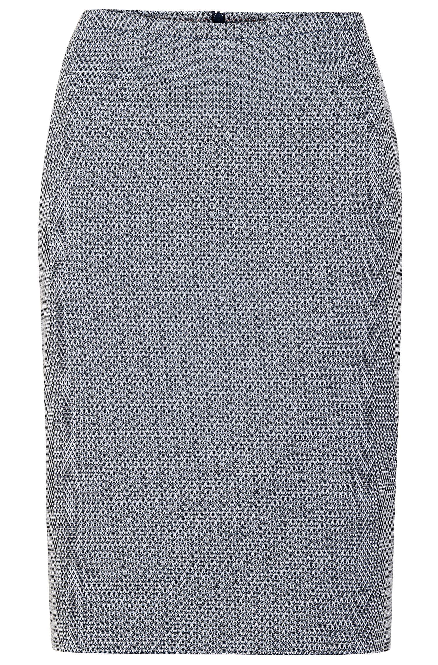 'Ranina'   Stretch Cotton Blend Pencil Skirt