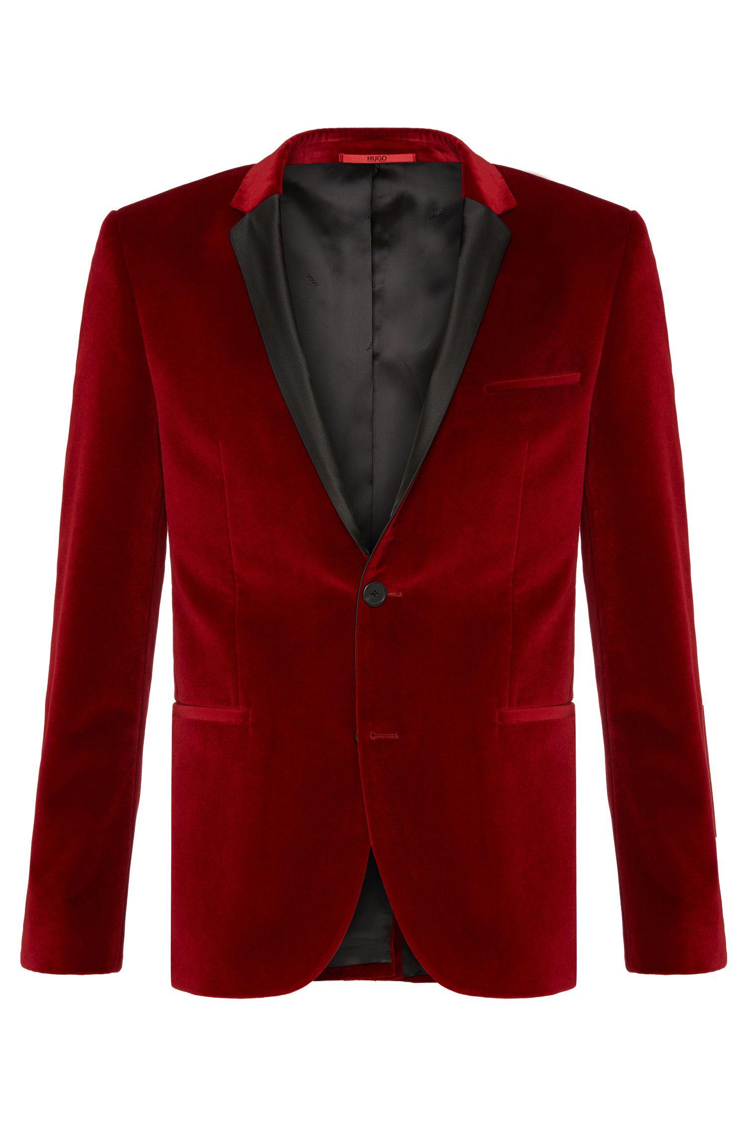 'Adrison' | Extra Slim Fit, Cotton Velvet Sport Jacket