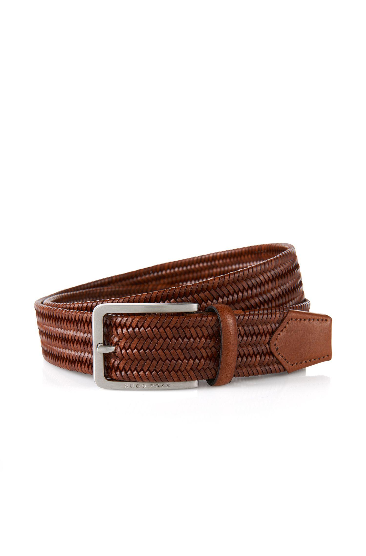 'Semy' | Italian Braided Leather Belt