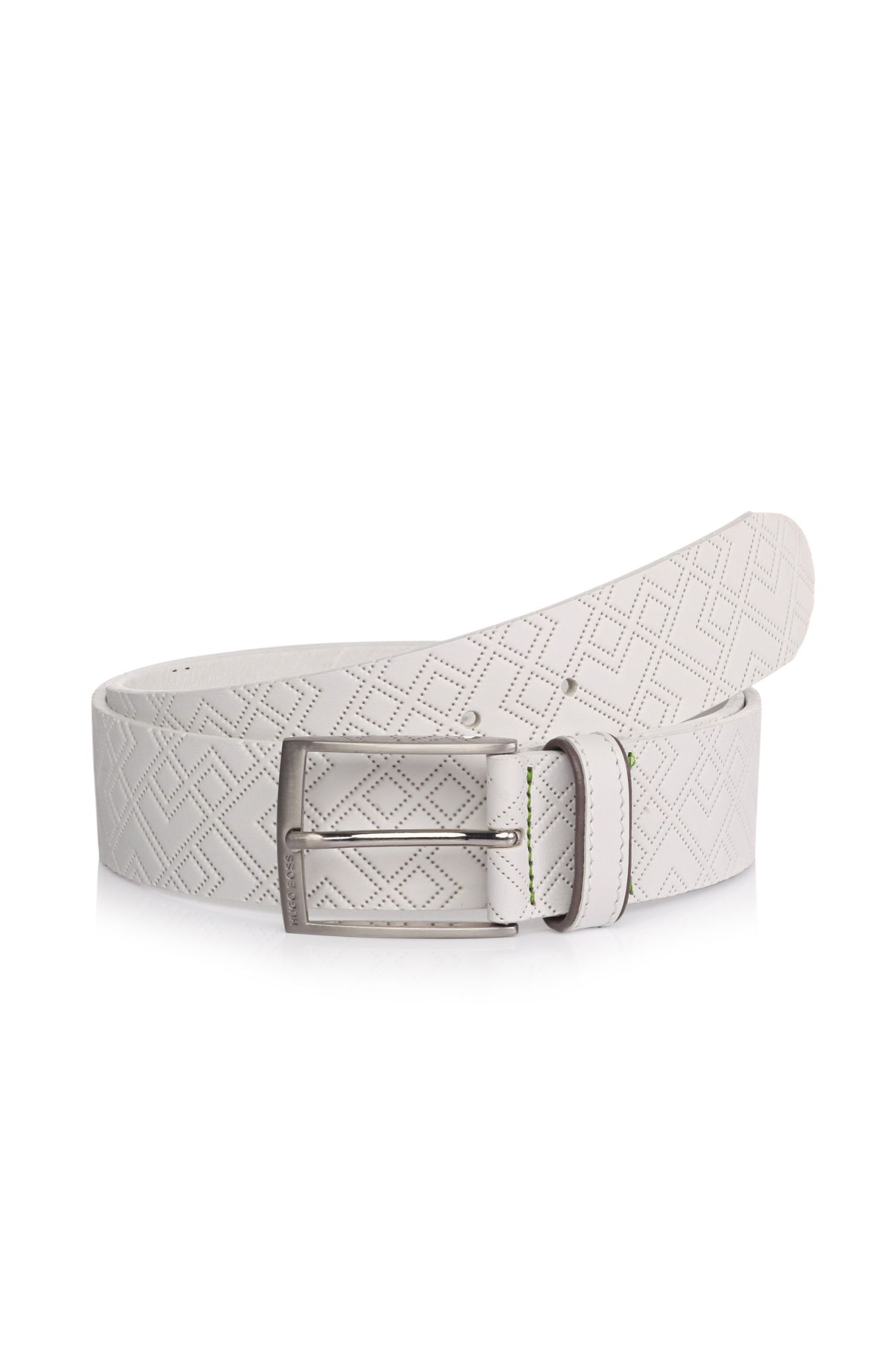 'Trover'   Leather Perforated Belt
