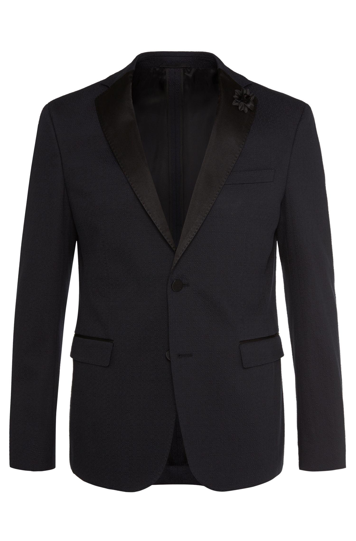 'Renon' | Extra Slim Fit, Stretch Cotton Textured Sport Coat