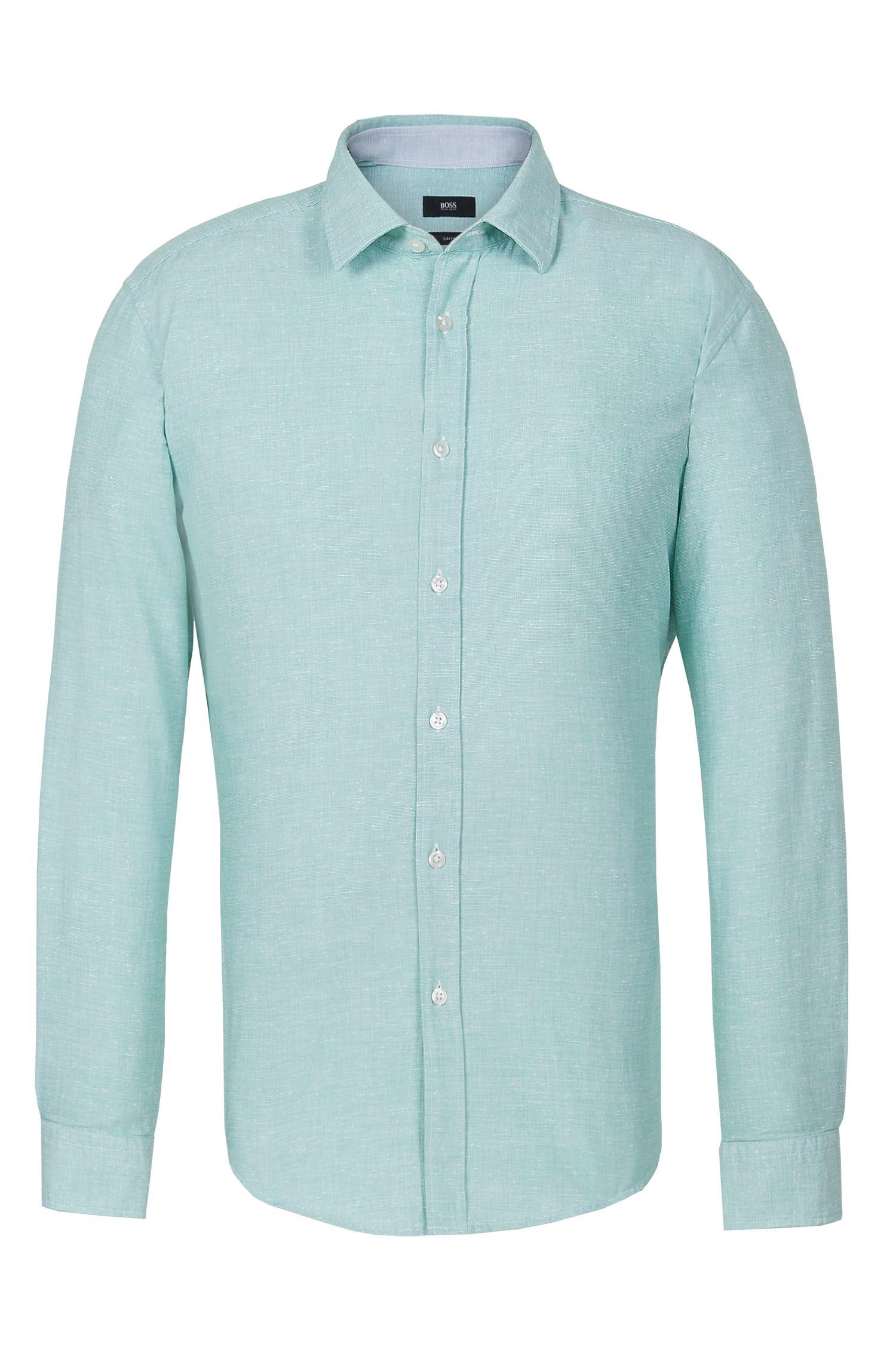 'Ronni'   Slim Fit, Cotton Button Down Shirt
