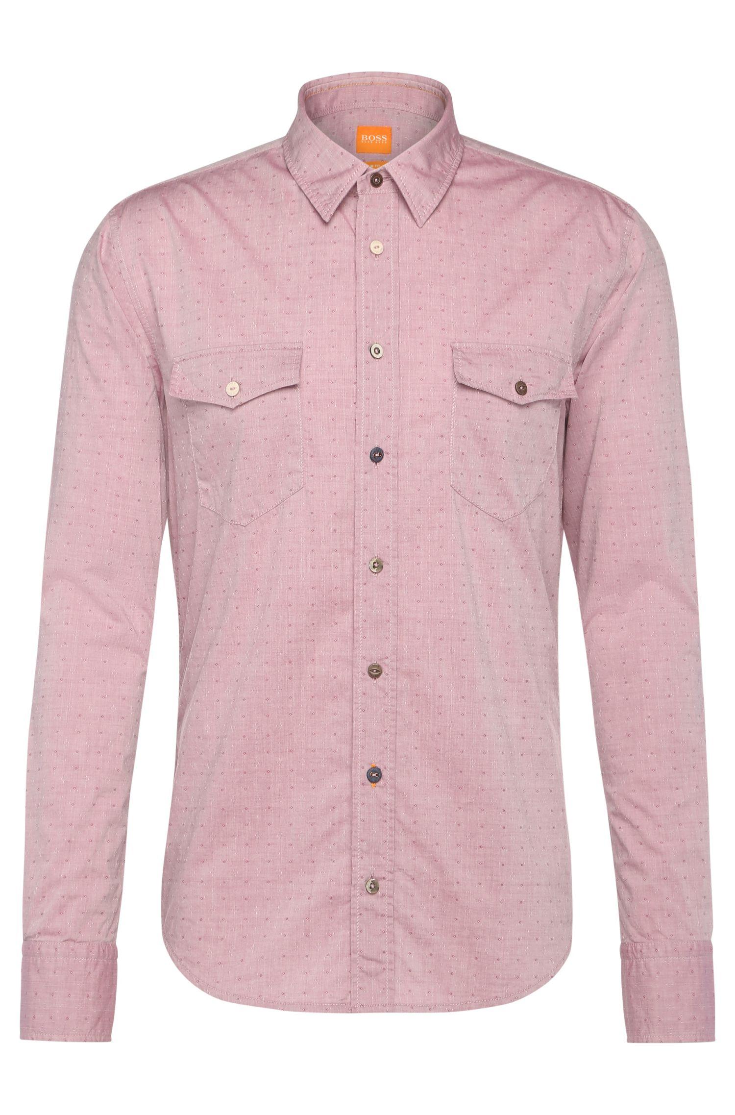 'EdaslimE'   Slim Fit, Cotton Button Down Shirt