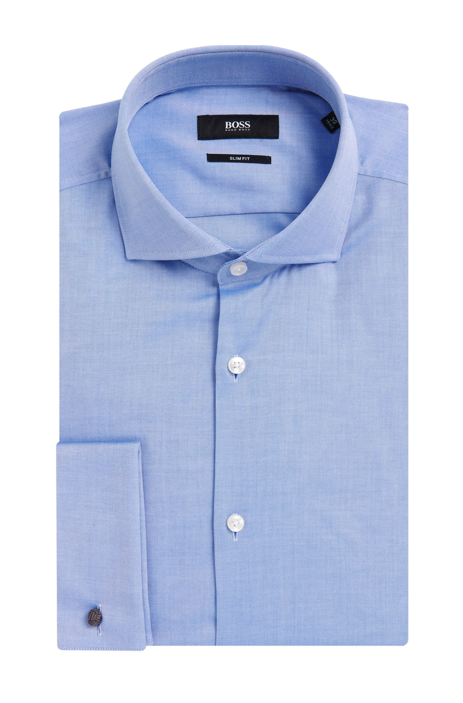 'Jaiden' | Slim Fit, Italian Cotton French Cuff Dress Shirt