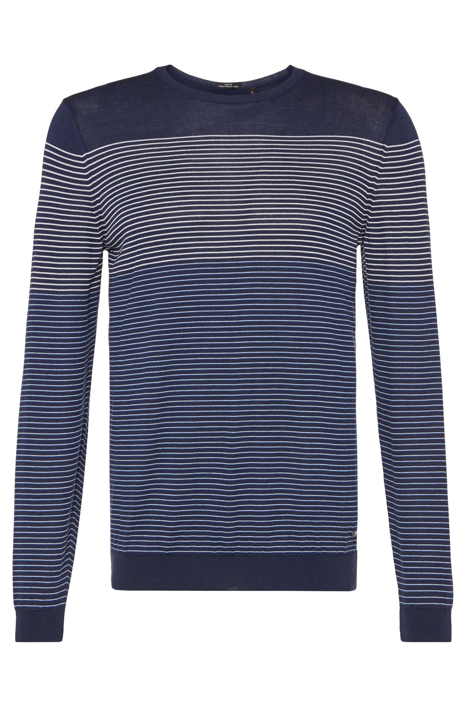 'T-Geomar' | Italian Silk Cotton Sweater