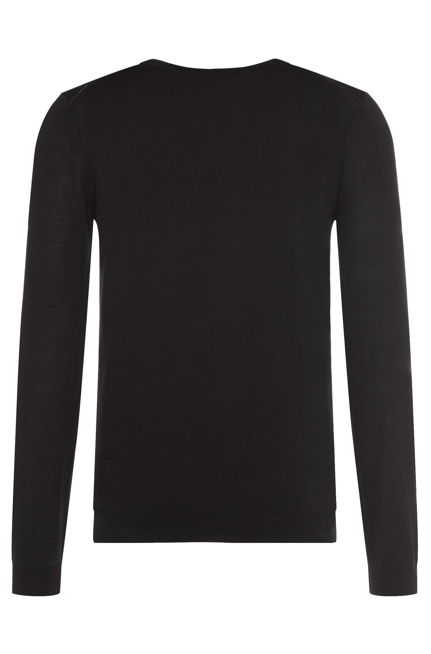 'T-Gervasio' | Italian Silk Cotton V-Neck Sweater