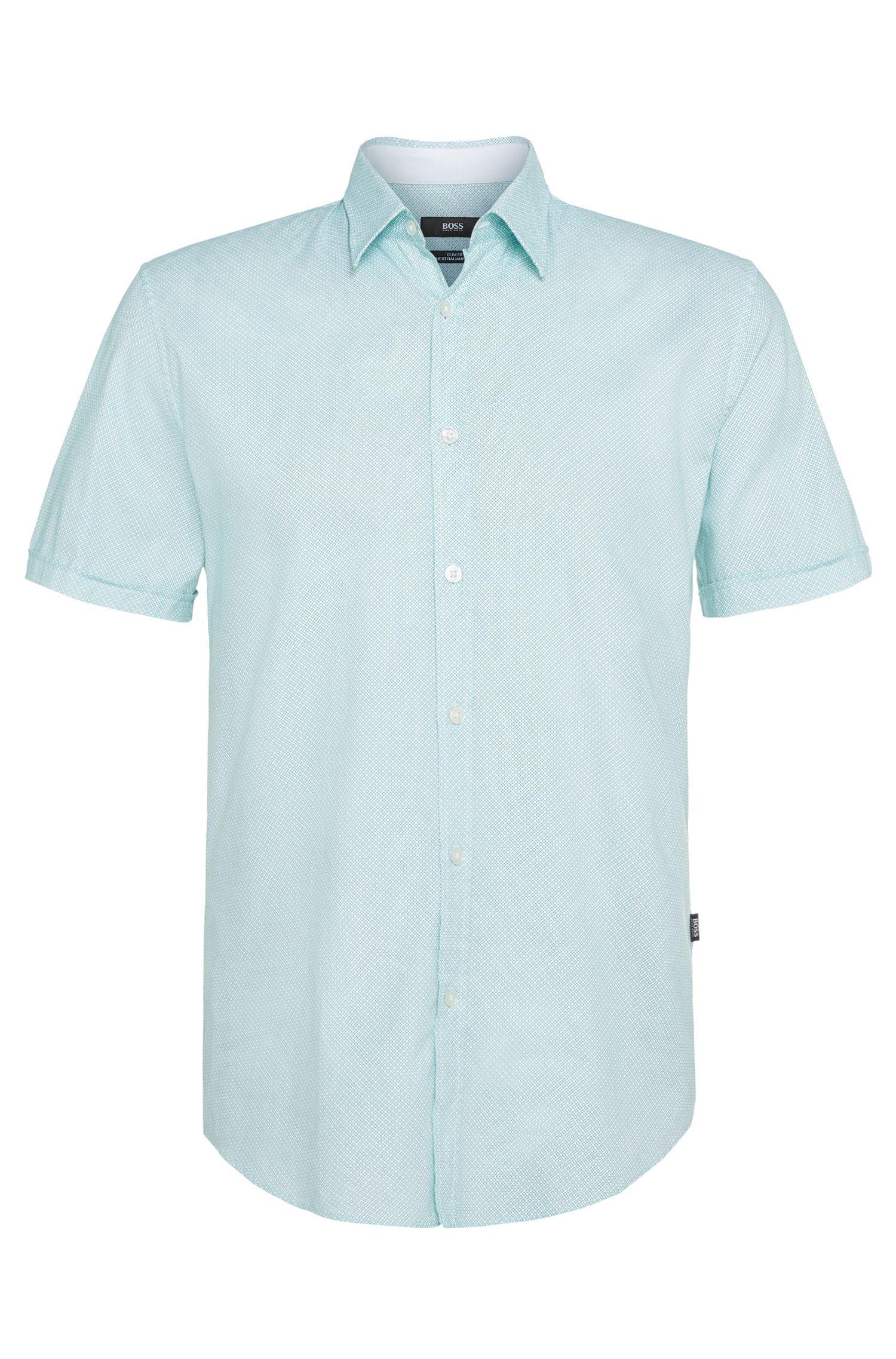 'Ronn' | Slim Fit, Italian Cotton Oxford Button Down Shirt